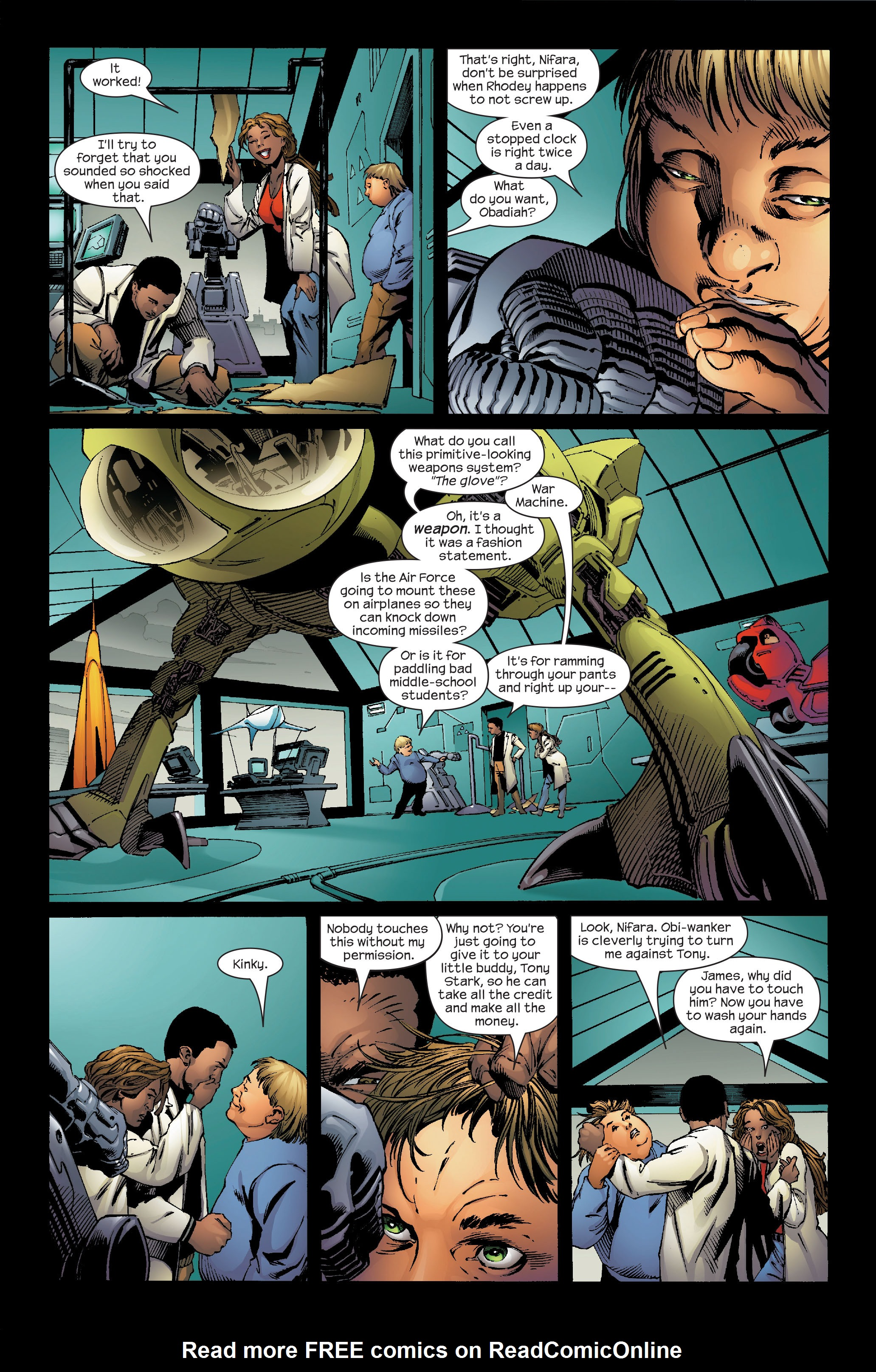 Read online Ultimate Iron Man (2005) comic -  Issue #5 - 3