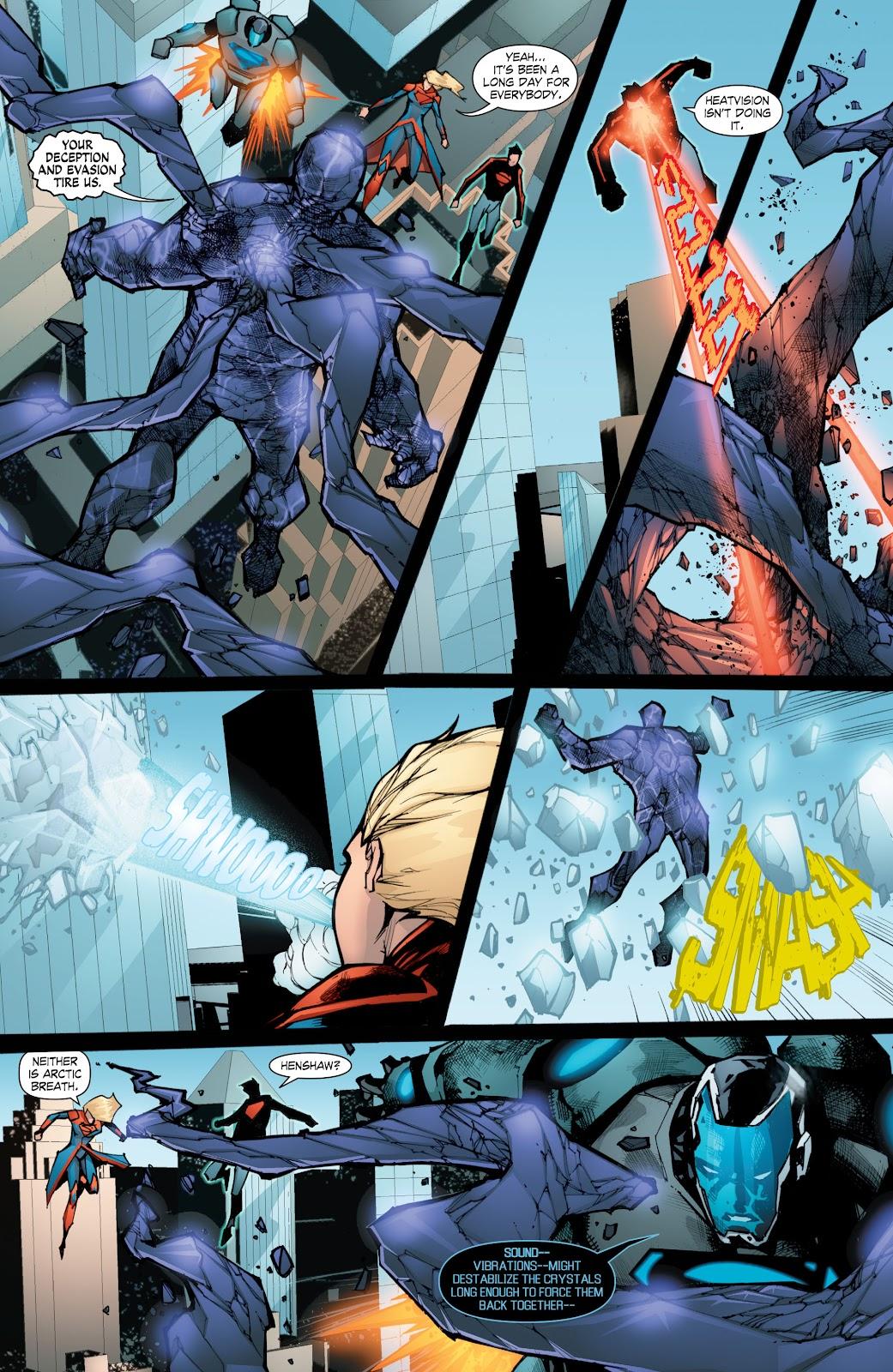 Read online Smallville Season 11 [II] comic -  Issue # TPB 8 - 155