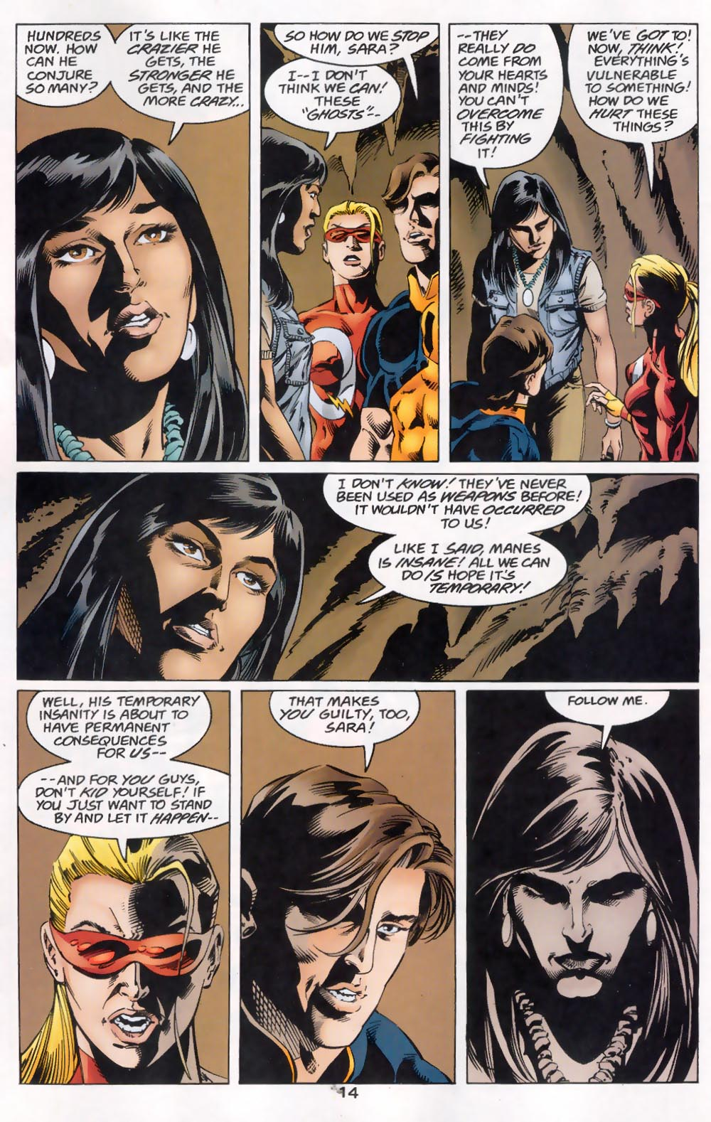 Read online The Titans (1999) comic -  Issue #46 - 15