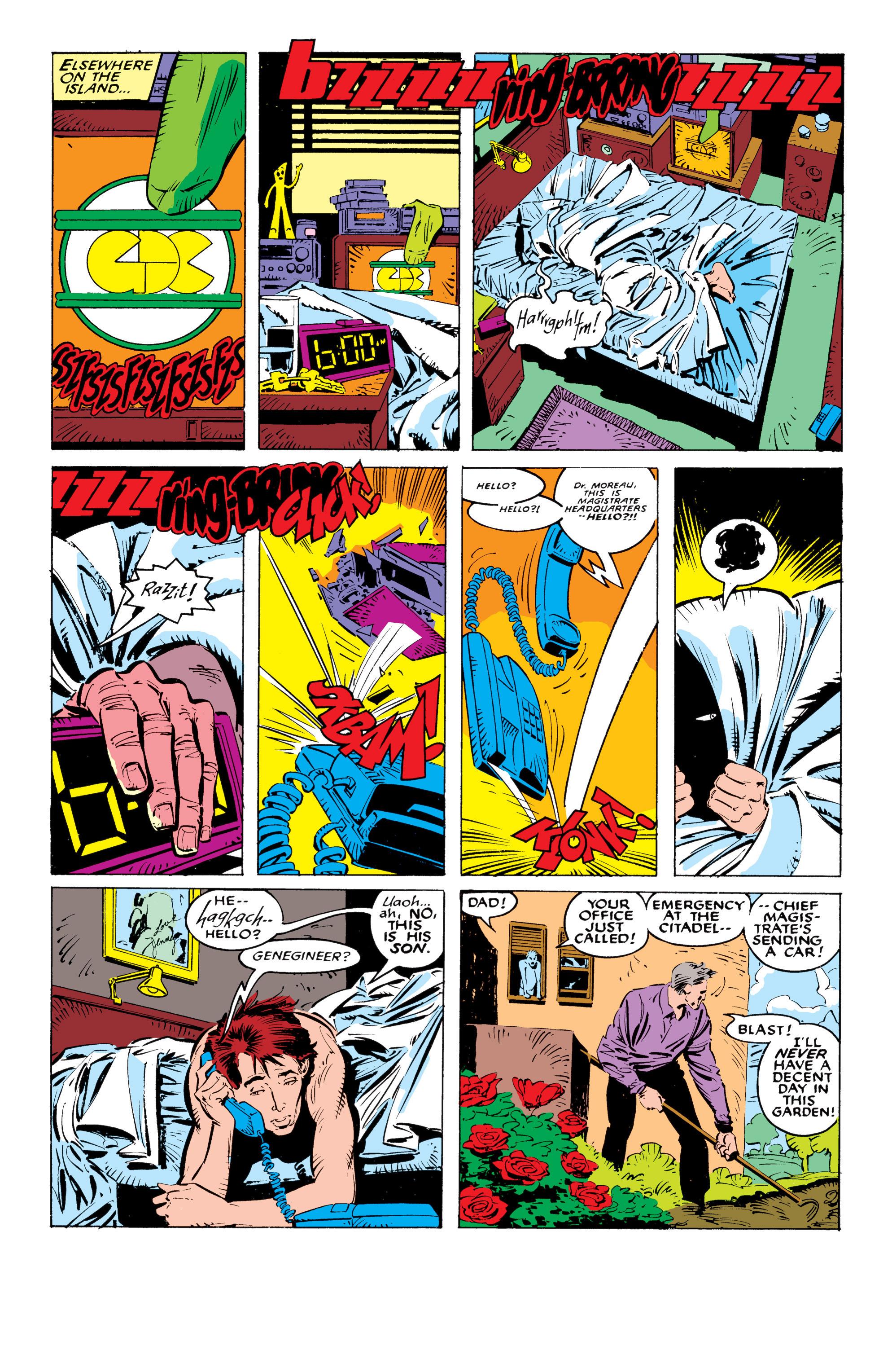 Read online Uncanny X-Men (1963) comic -  Issue #236 - 6