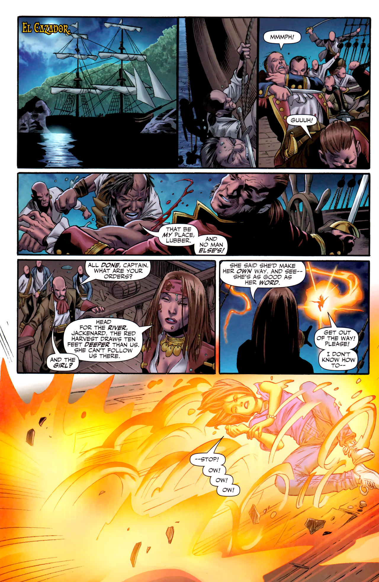 Read online Sigil (2011) comic -  Issue #3 - 10