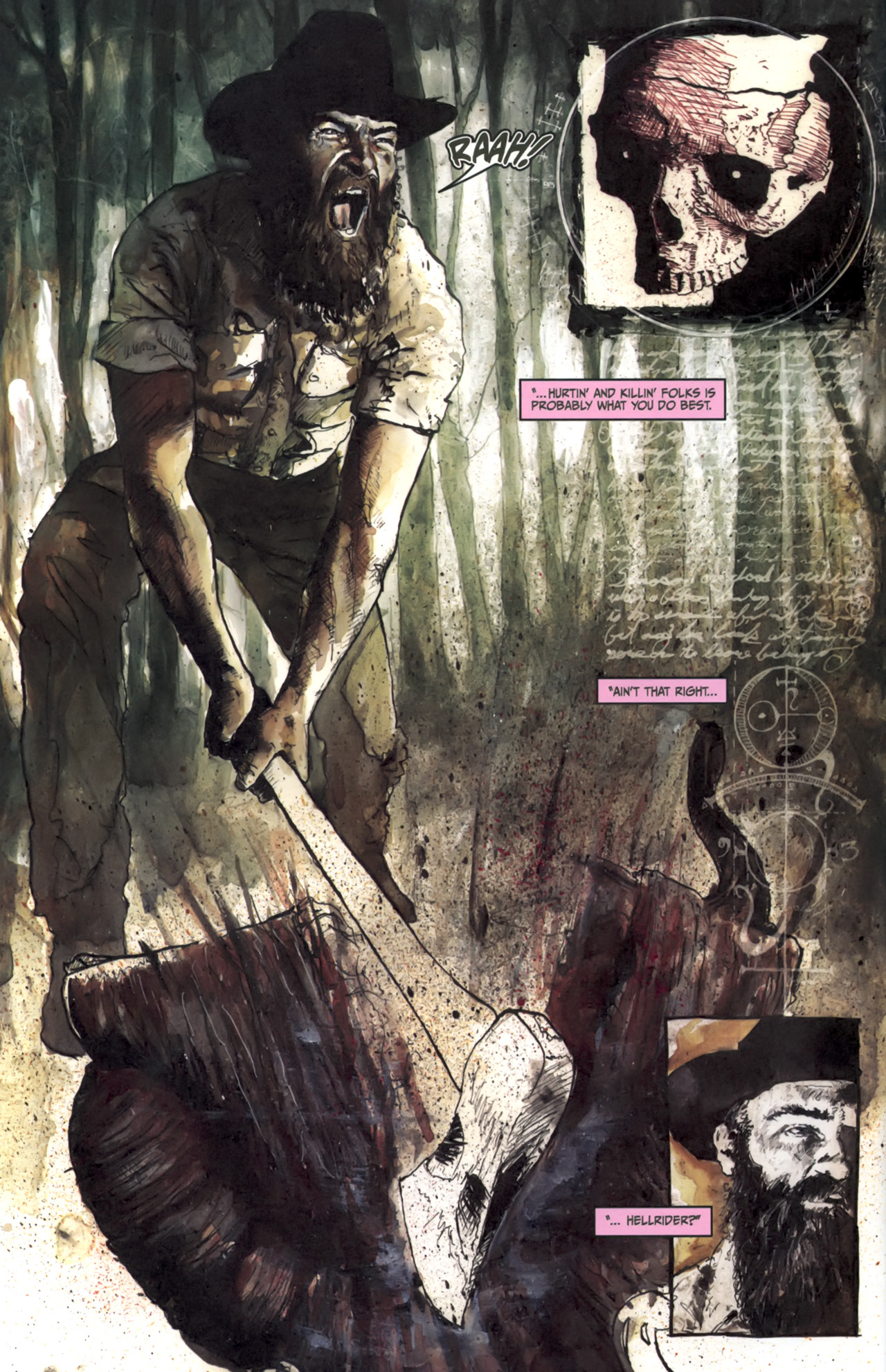 Read online Silent Hill: Past Life comic -  Issue #3 - 4