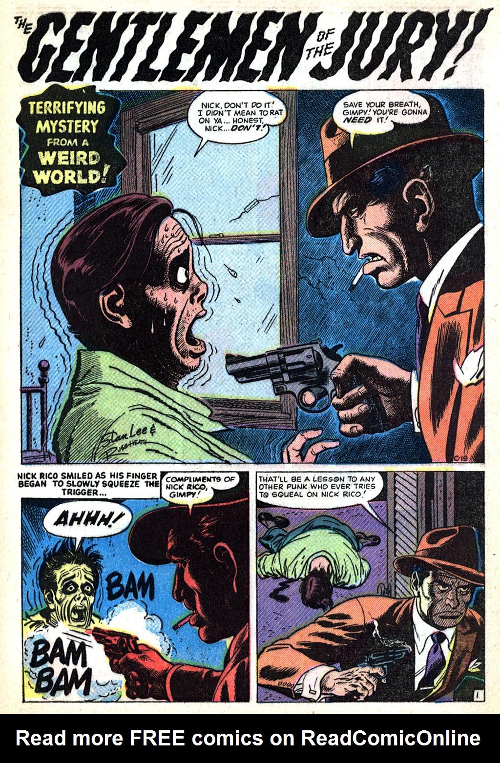 Read online Adventures into Weird Worlds comic -  Issue #17 - 27