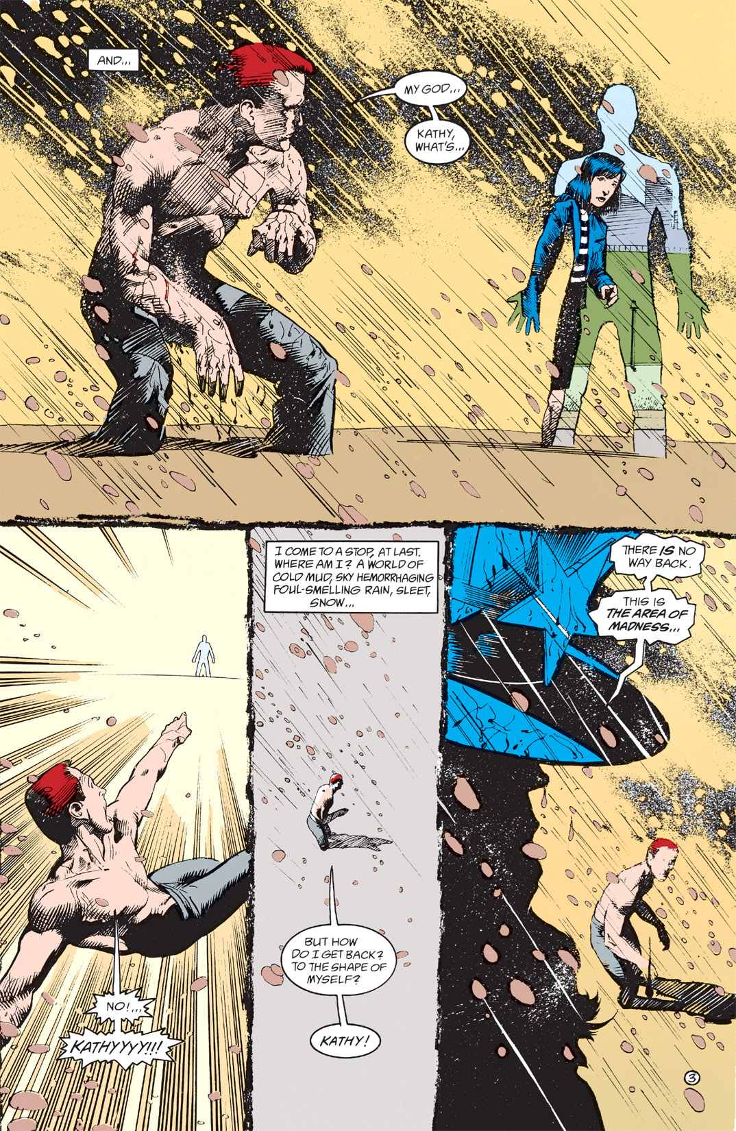 Read online Shade, the Changing Man comic -  Issue #4 - 5