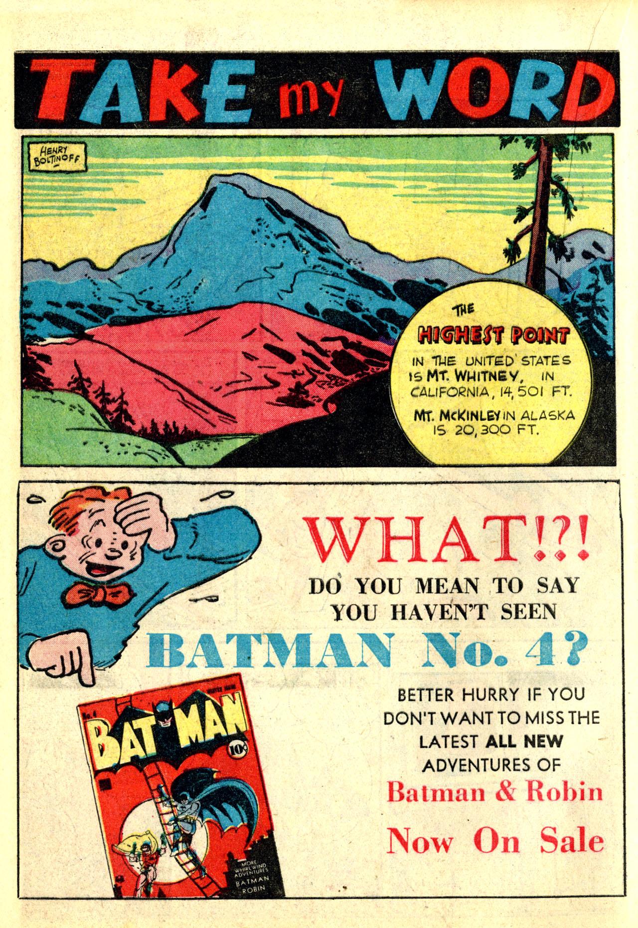 Read online Detective Comics (1937) comic -  Issue #50 - 16