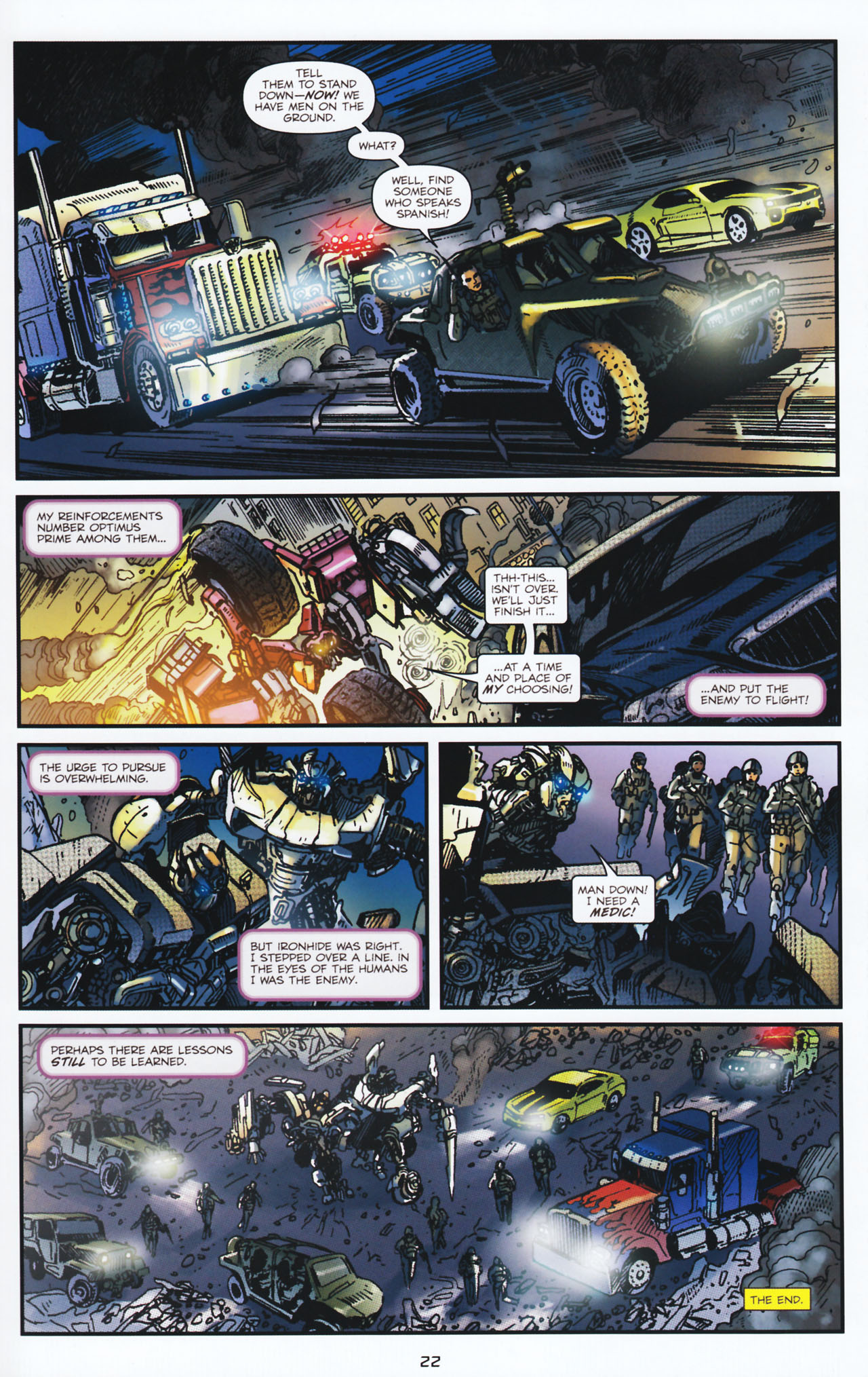 Read online Transformers: Tales of The Fallen comic -  Issue #2 - 23