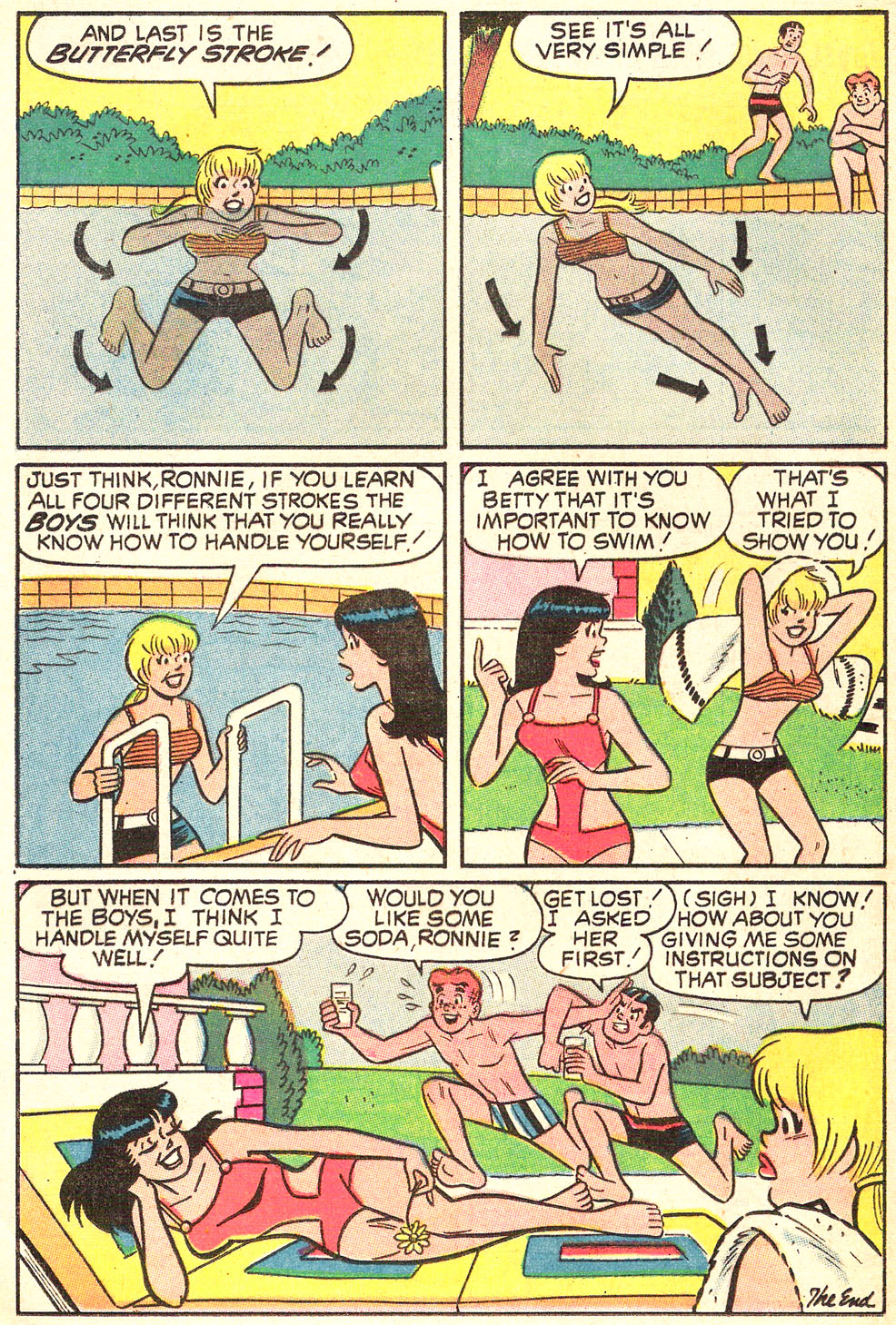 Read online Archie's Girls Betty and Veronica comic -  Issue #179 - 23