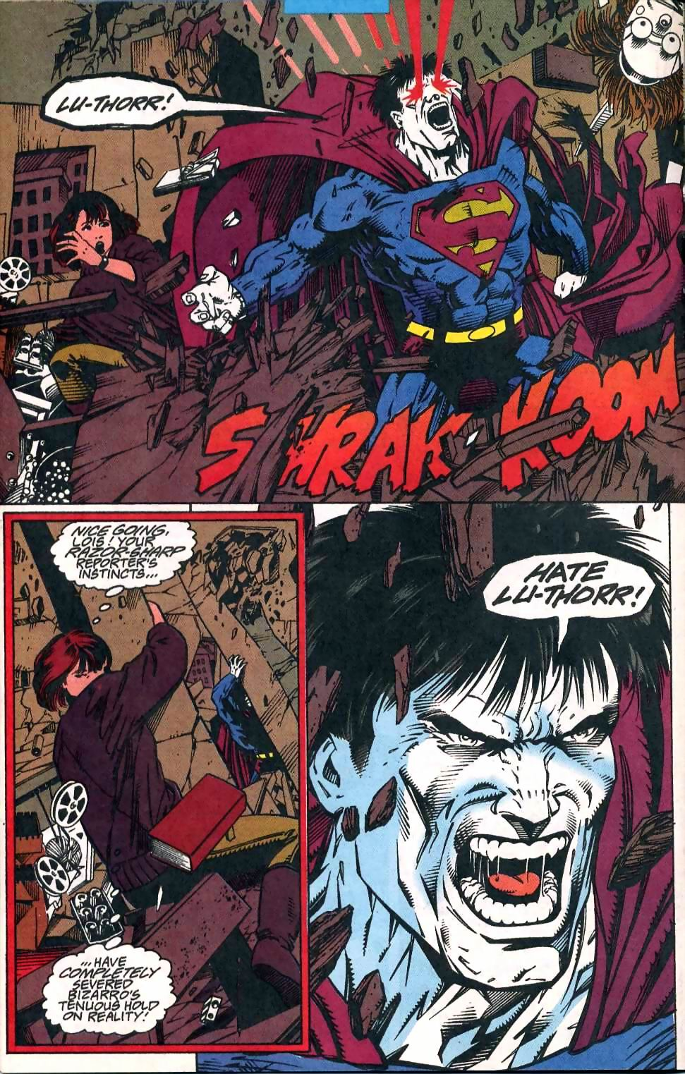 Read online Adventures of Superman (1987) comic -  Issue #510 - 13