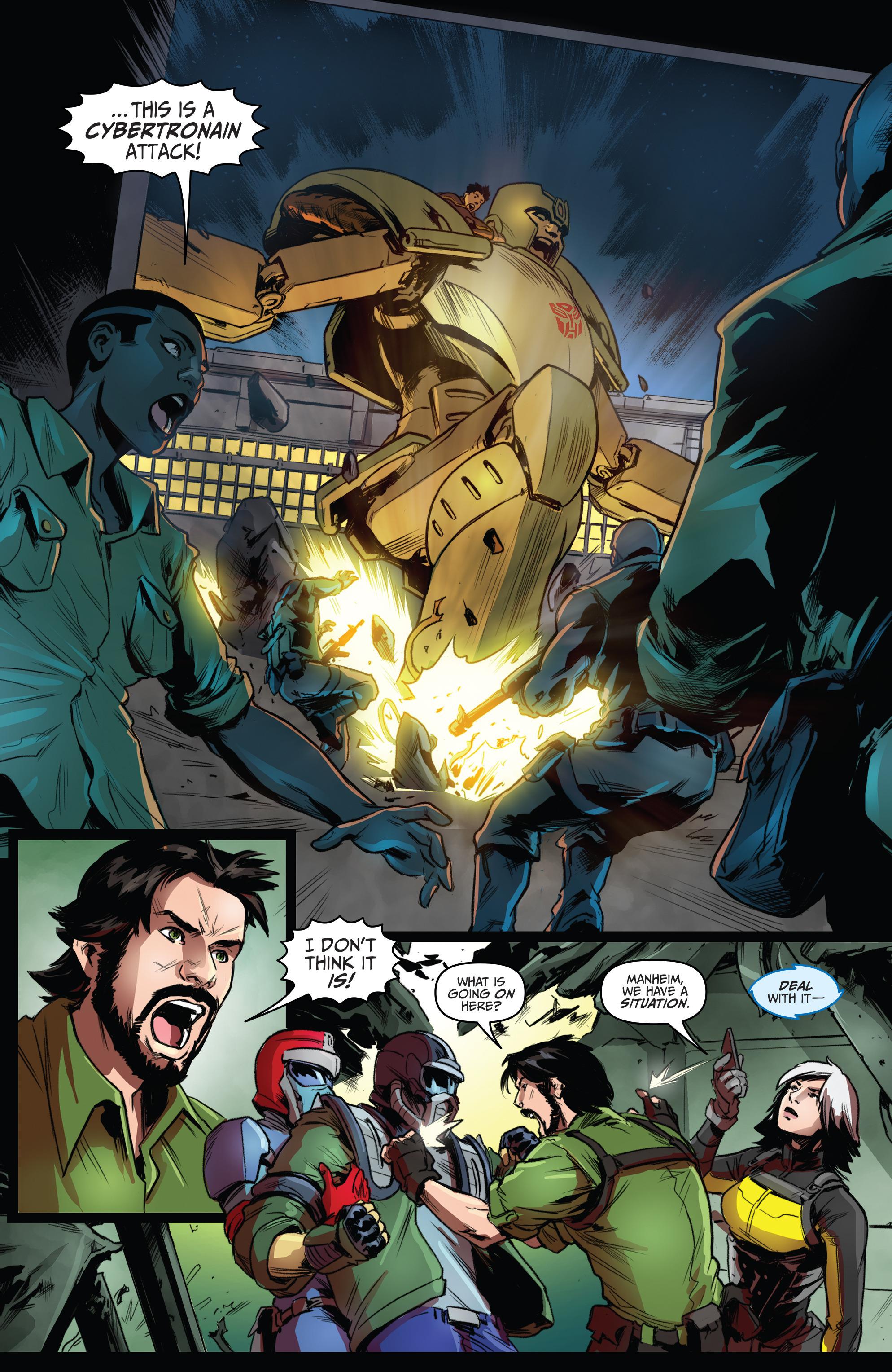 Read online Action Man: Revolution comic -  Issue #Action Man: Revolution Full - 18
