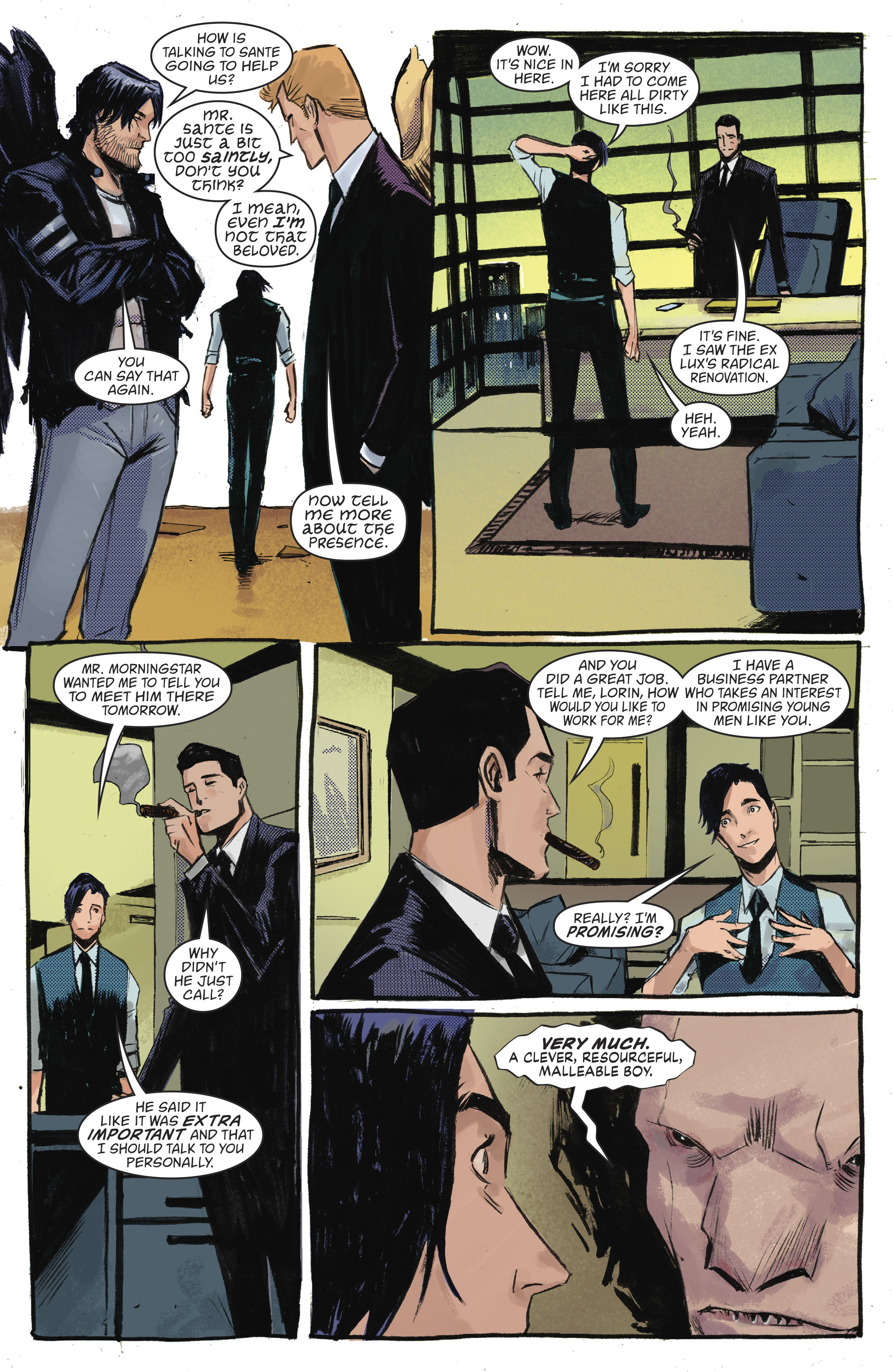 Read online Lucifer (2016) comic -  Issue #18 - 15