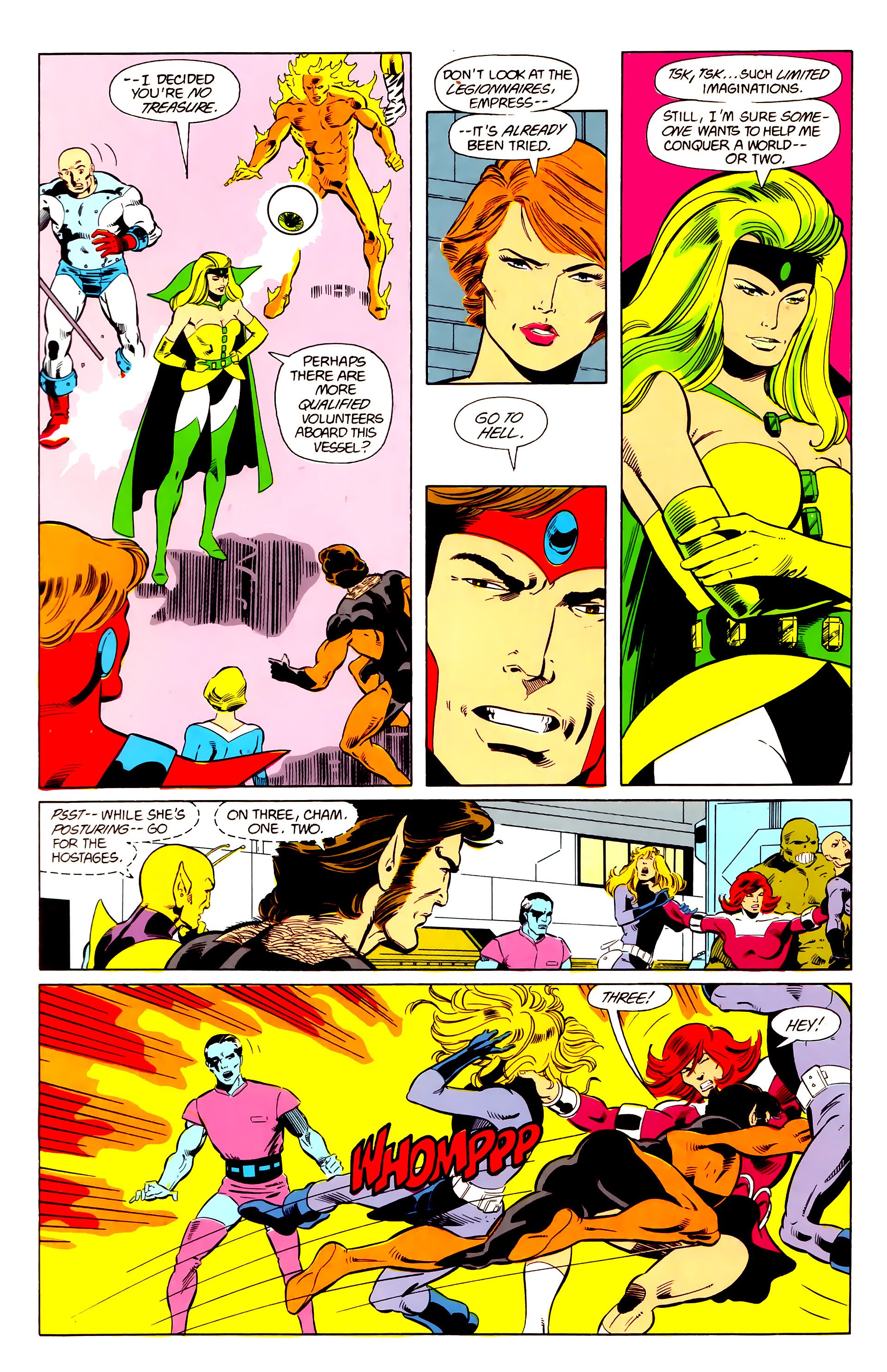 Legion of Super-Heroes (1984) 21 Page 12