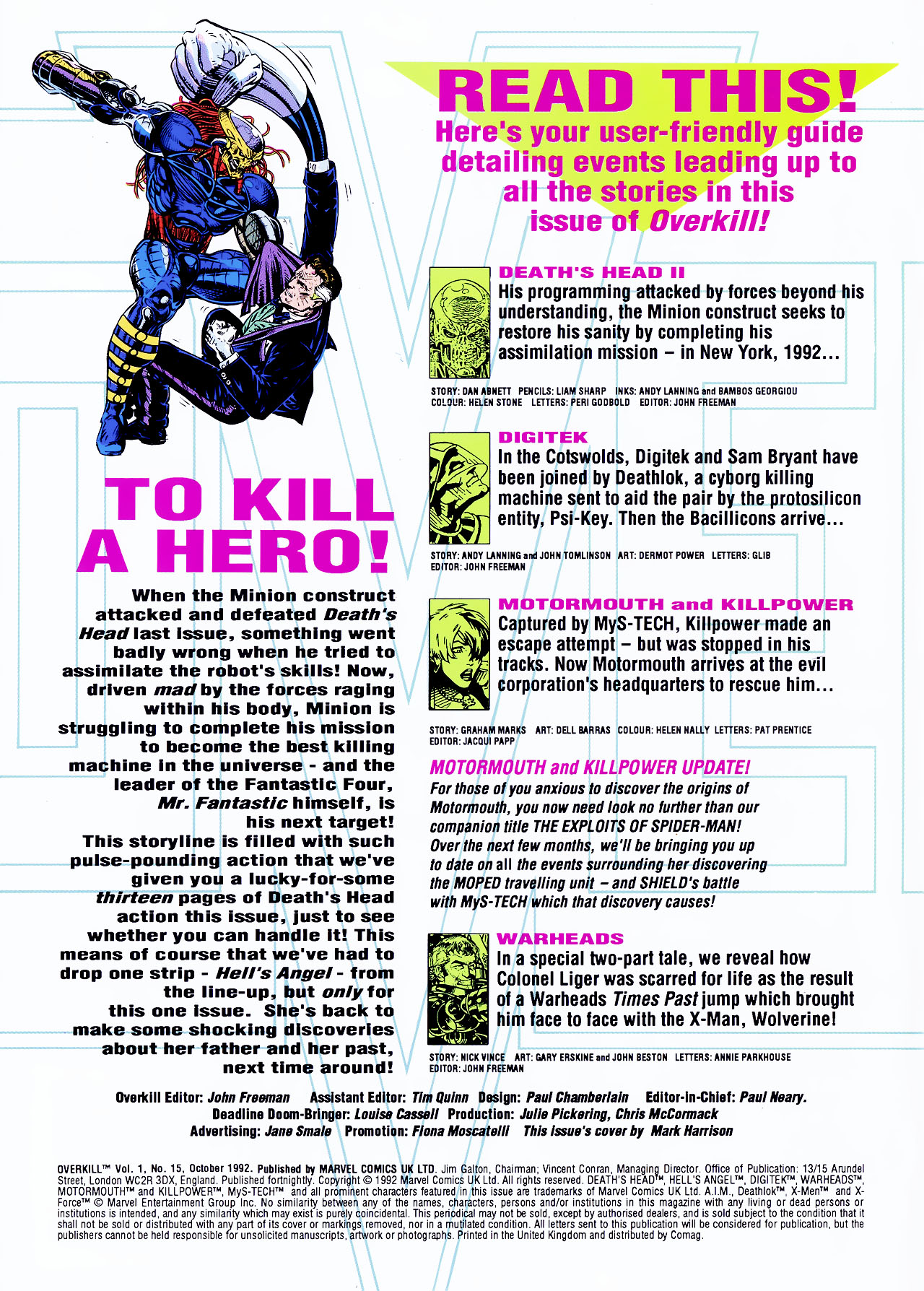 Read online Overkill comic -  Issue #15 - 2