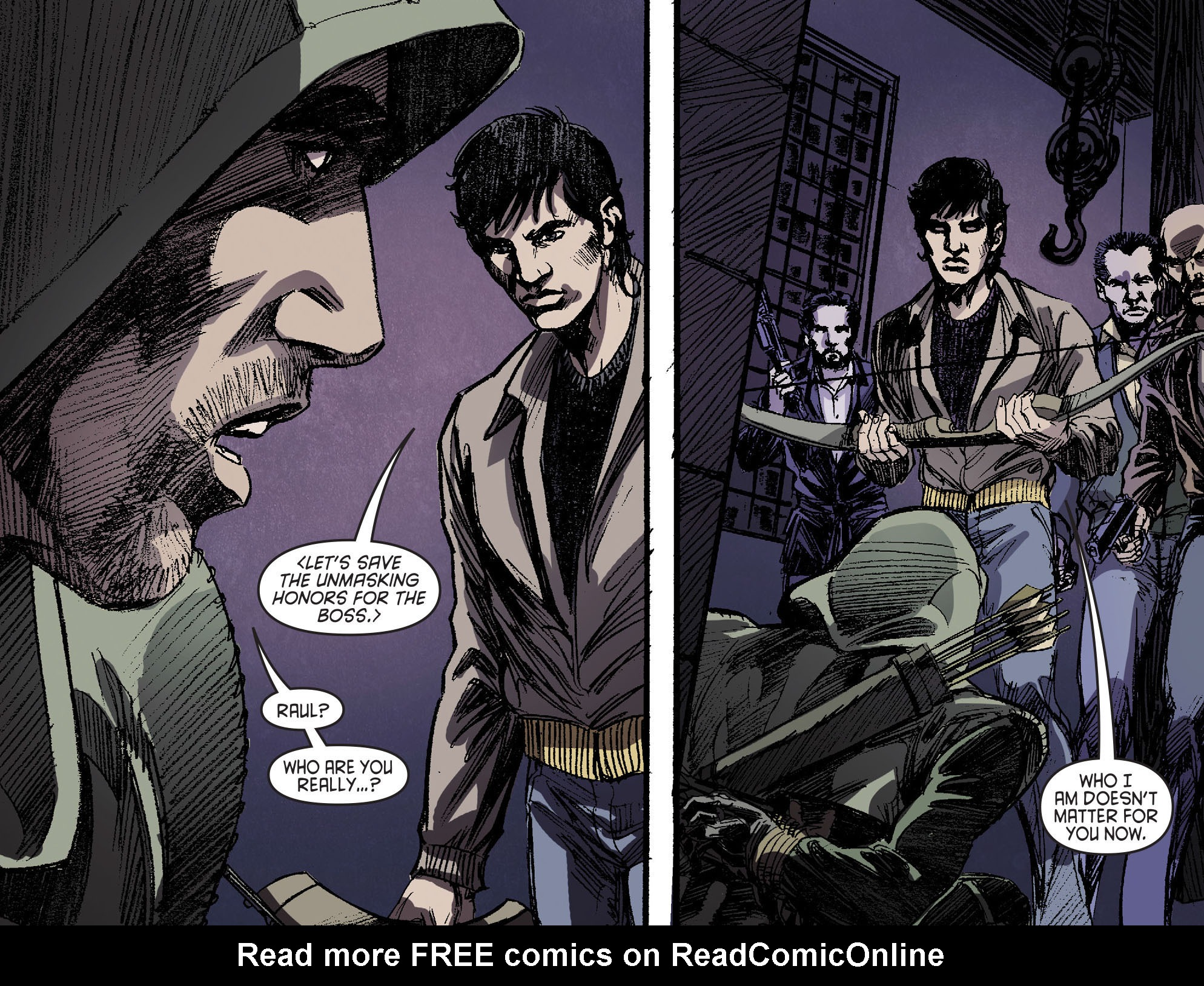 Read online Arrow [II] comic -  Issue #16 - 16