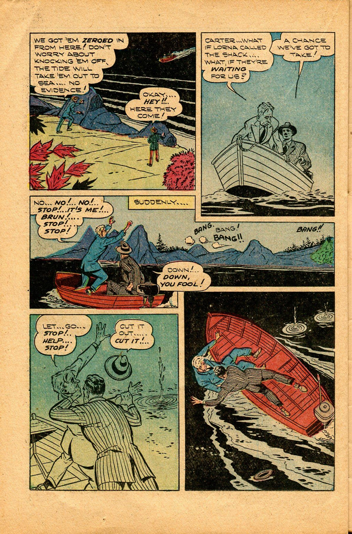 Read online Shadow Comics comic -  Issue #94 - 34