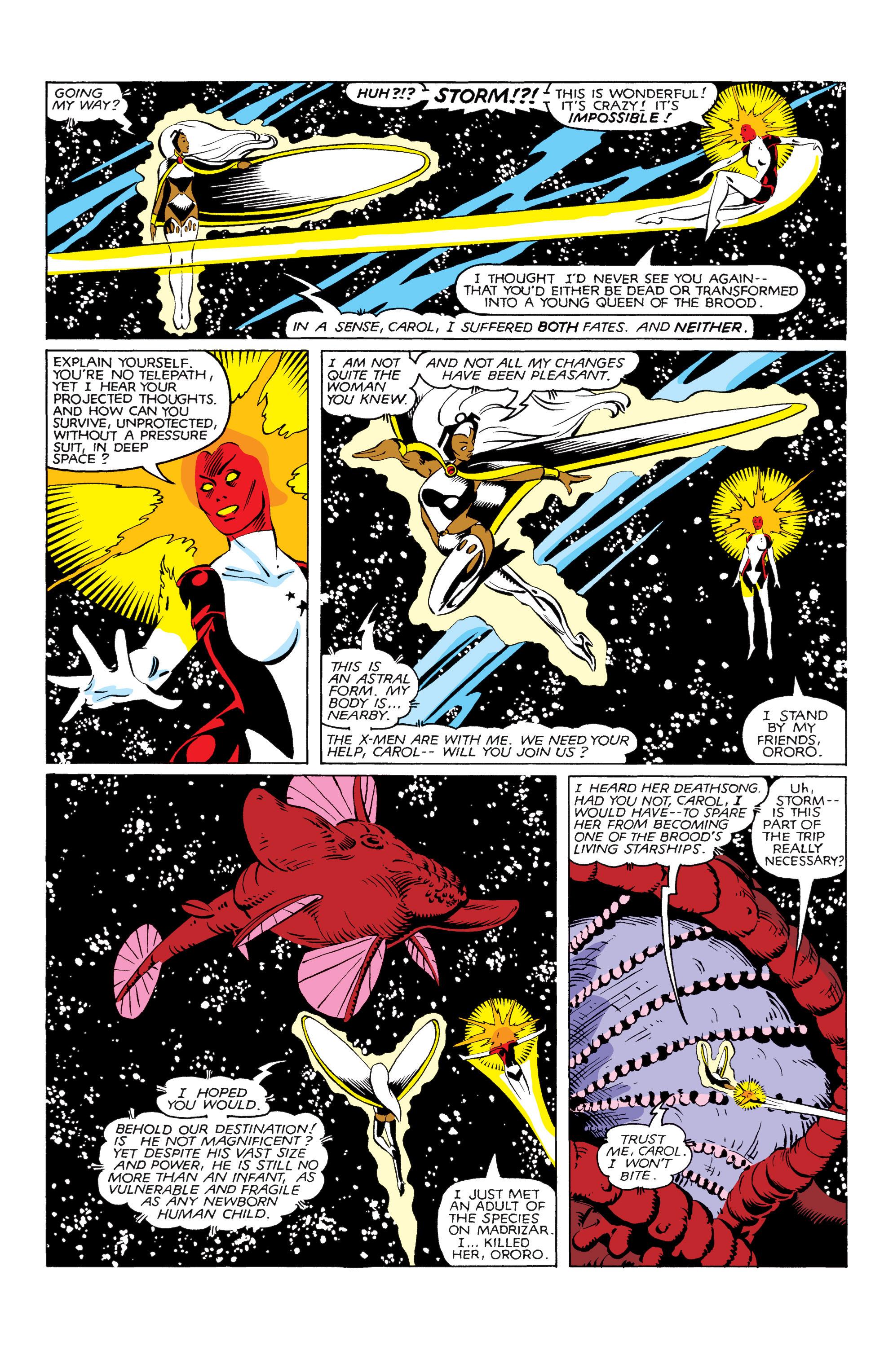 Read online Uncanny X-Men (1963) comic -  Issue #166 - 6
