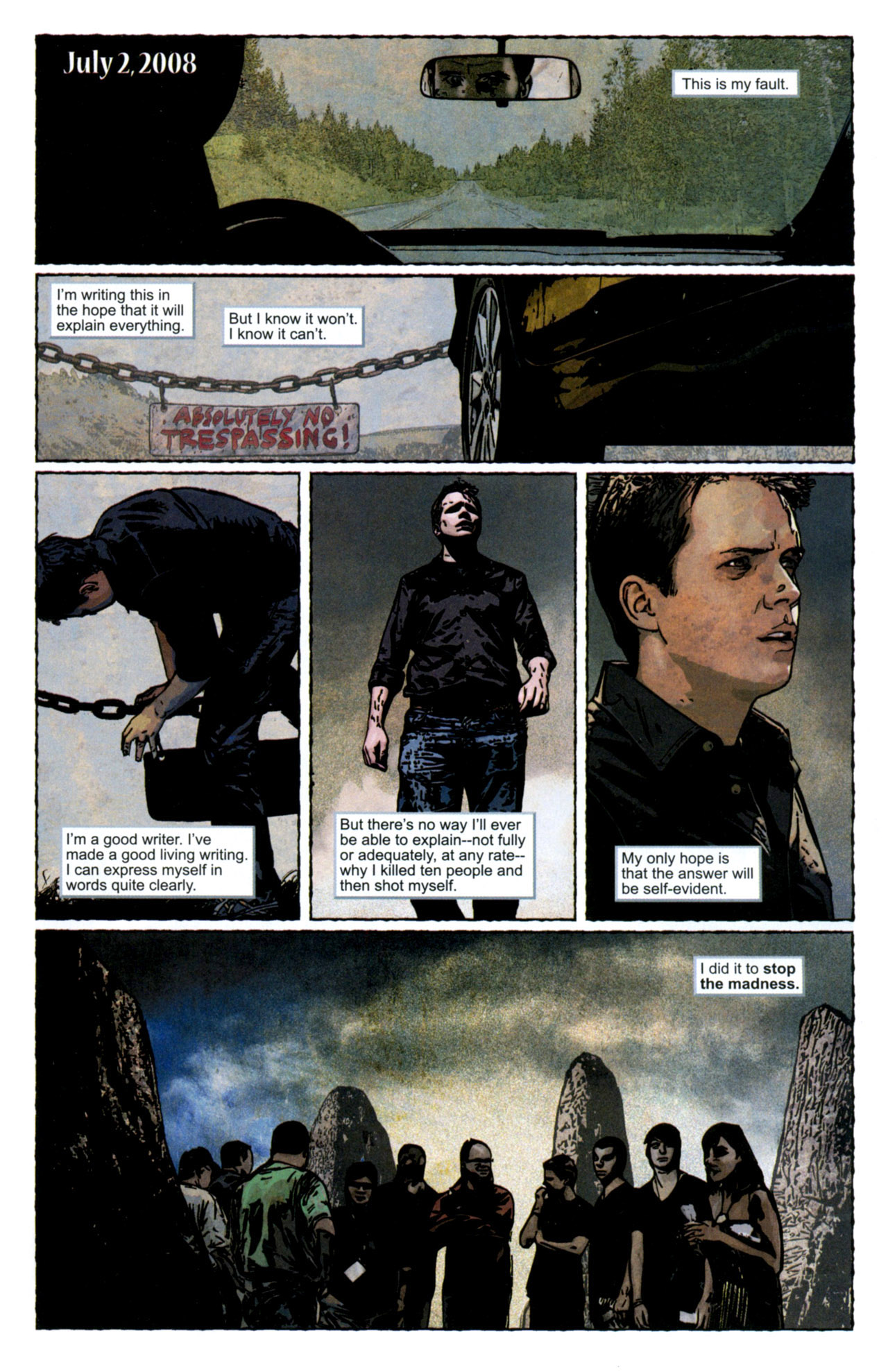 Read online Stephen King's N. comic -  Issue #4 - 17