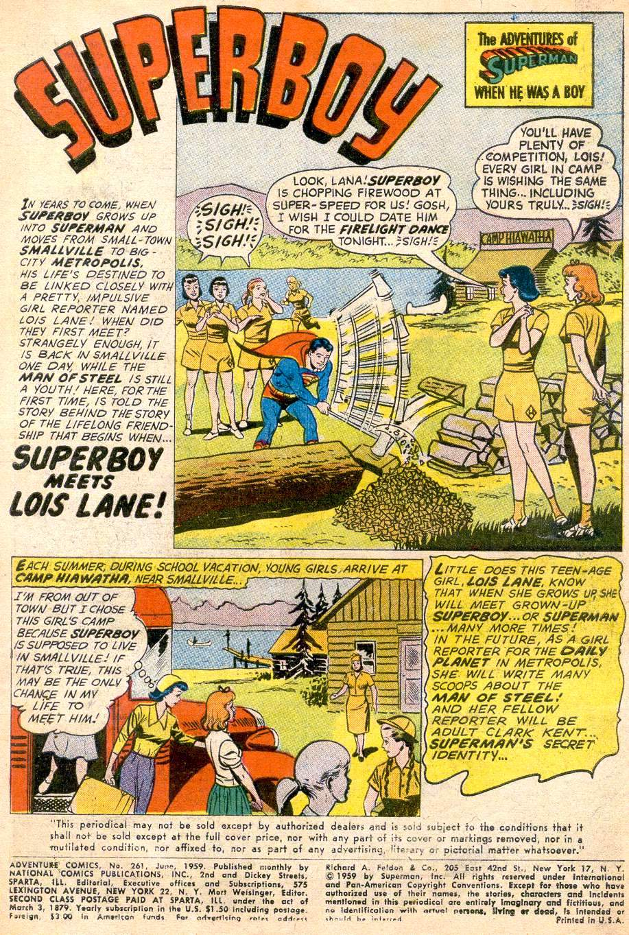 Read online Adventure Comics (1938) comic -  Issue #261 - 3