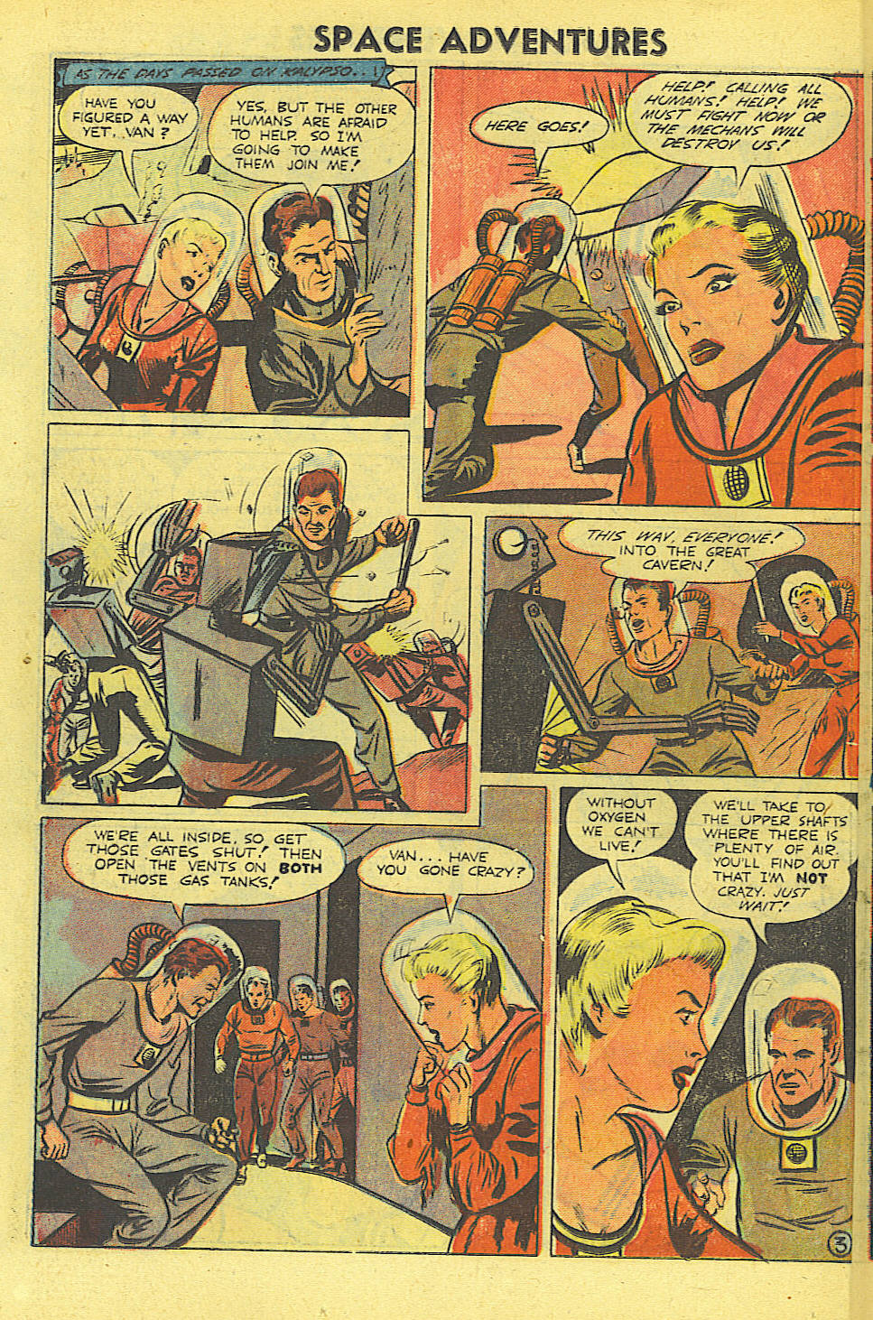Space Adventures (1952) issue 4 - Page 17