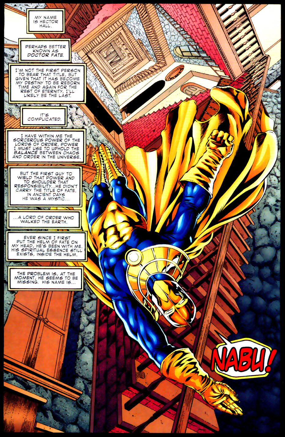 Read online Doctor Fate (2003) comic -  Issue #2 - 2