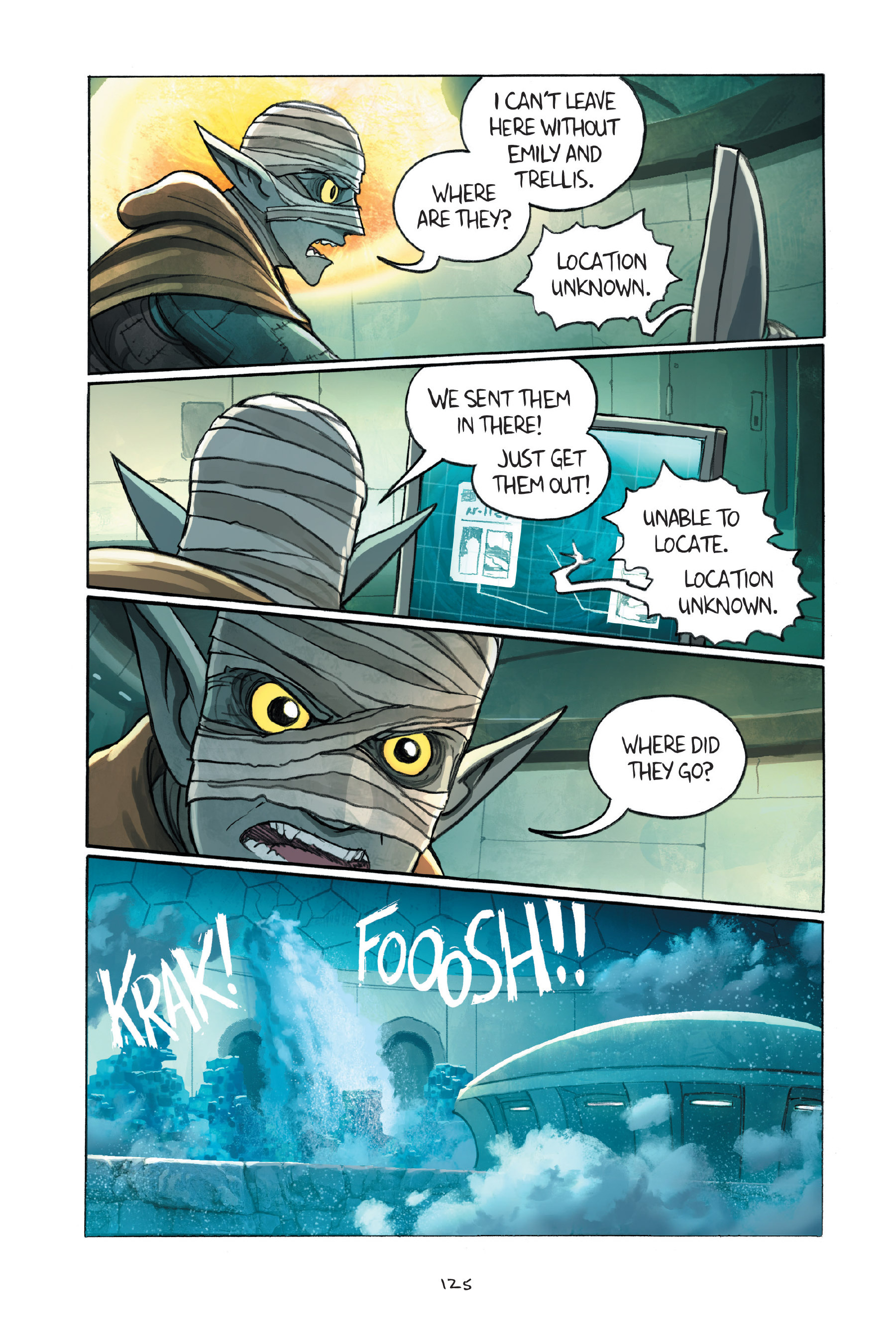 Read online Amulet comic -  Issue #7 - 125