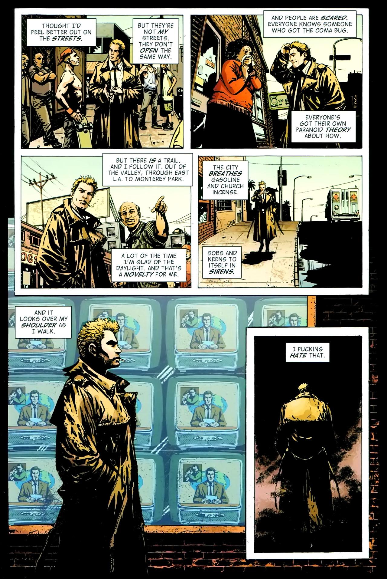 Read online John Constantine Hellblazer: All His Engines comic -  Issue # Full - 54