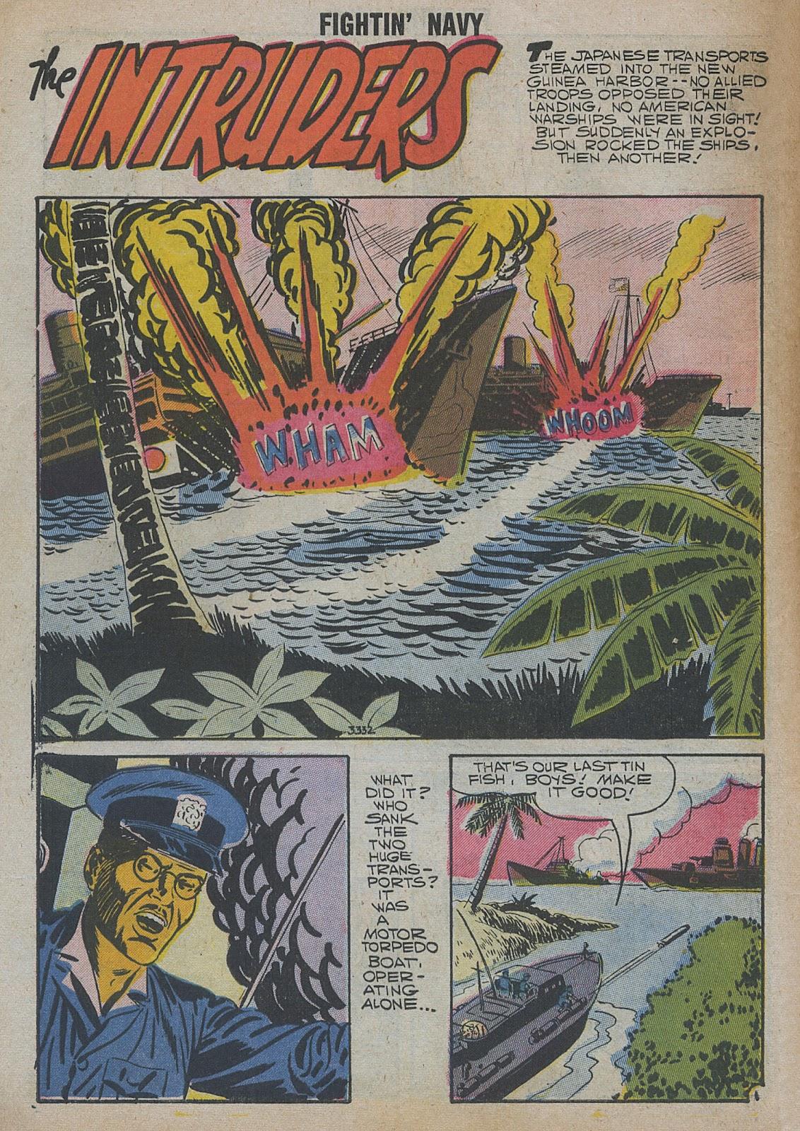 Read online Fightin' Navy comic -  Issue #82 - 8