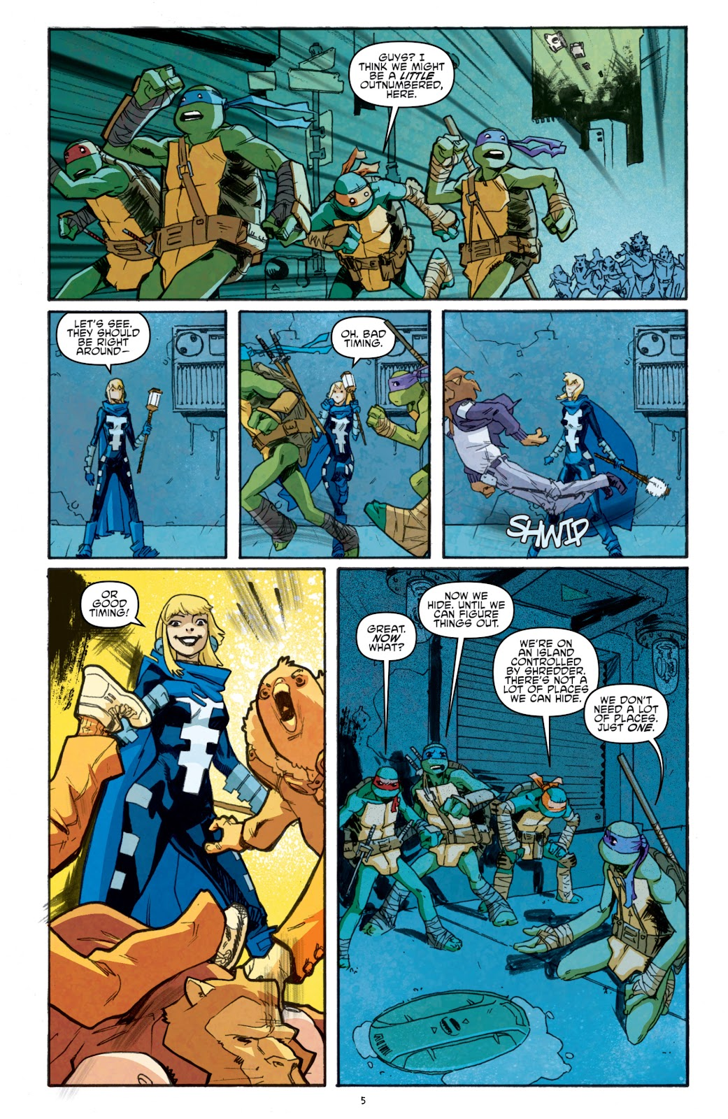 Read online Teenage Mutant Ninja Turtles: The IDW Collection comic -  Issue # TPB 5 (Part 1) - 80