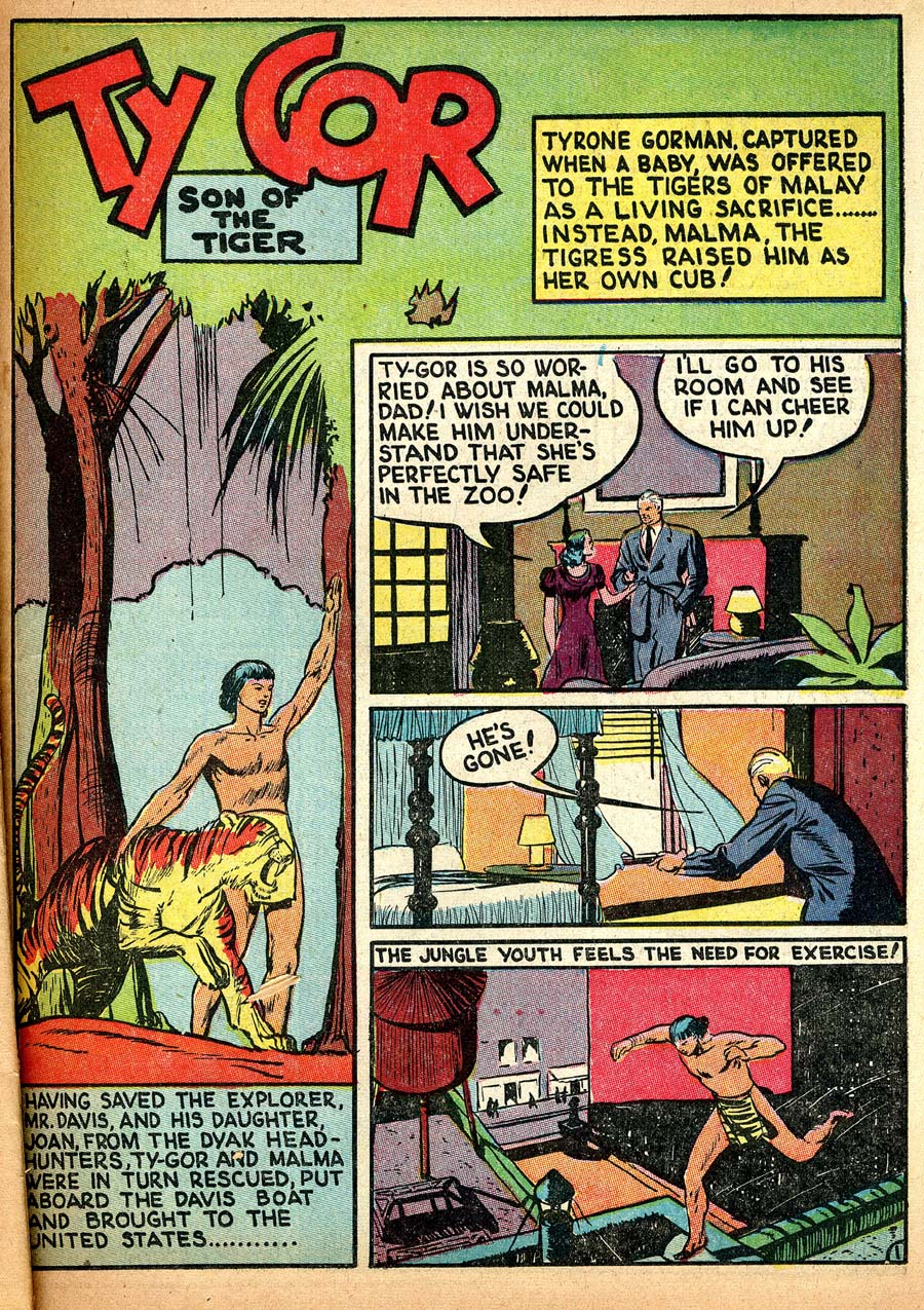 Blue Ribbon Comics (1939) issue 8 - Page 43