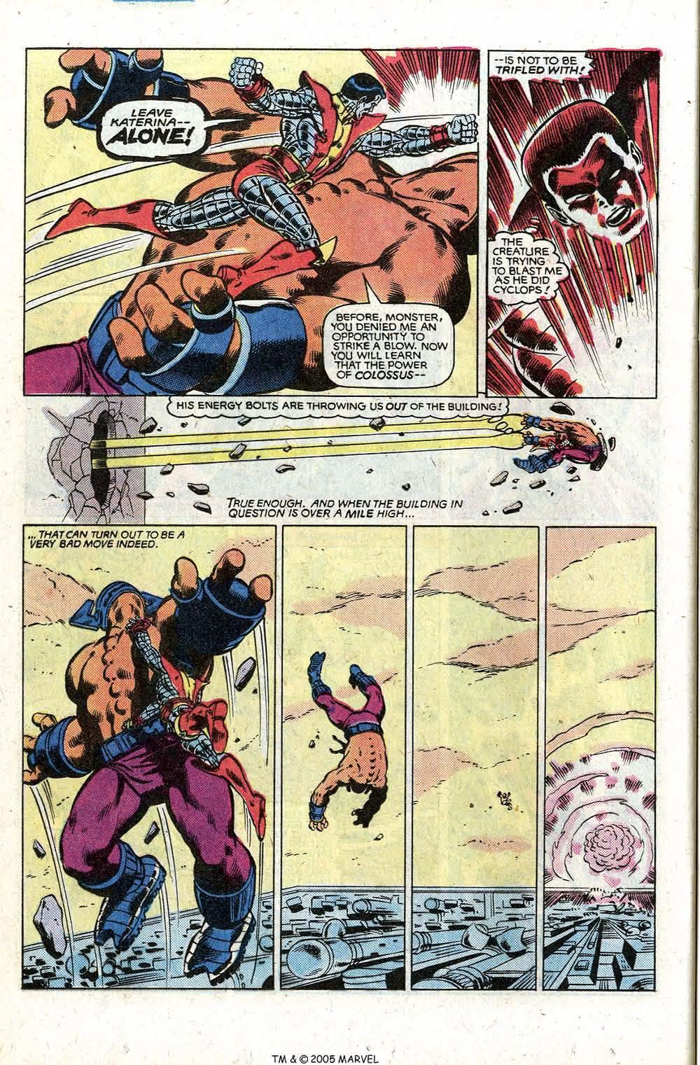 Read online Uncanny X-Men (1963) comic -  Issue # _Annual 5 - 36