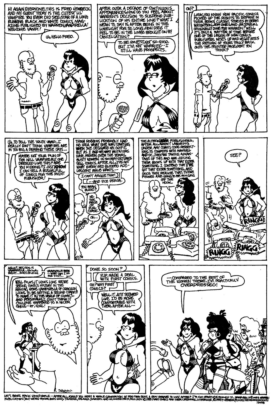 Read online The Nearly Complete Essential Hembeck Archives Omnibus comic -  Issue # TPB (Part 4) - 65