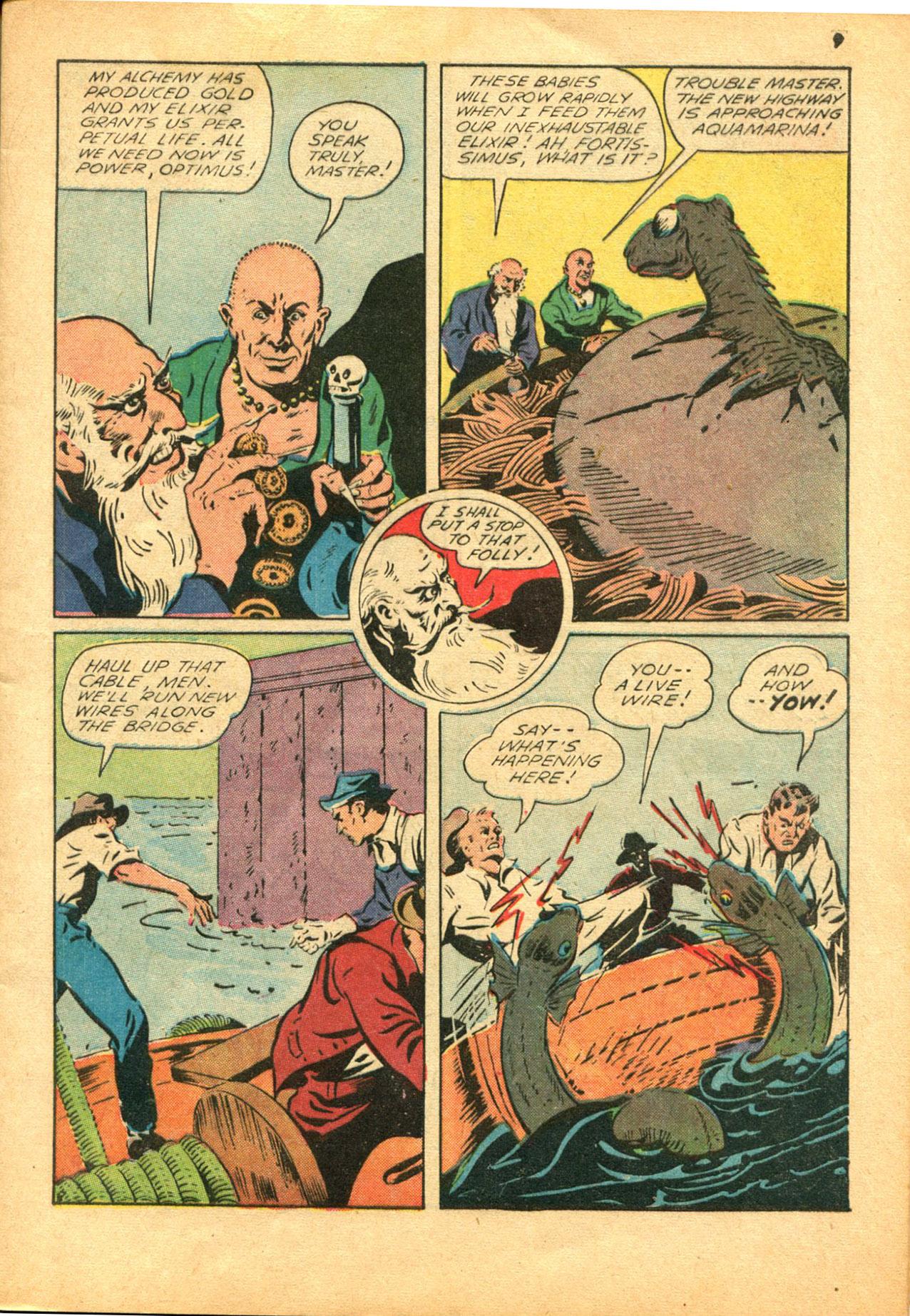 Read online Shadow Comics comic -  Issue #30 - 9