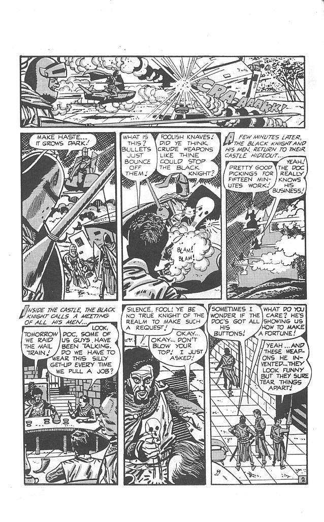 Read online Golden-Age Men of Mystery comic -  Issue #4 - 4