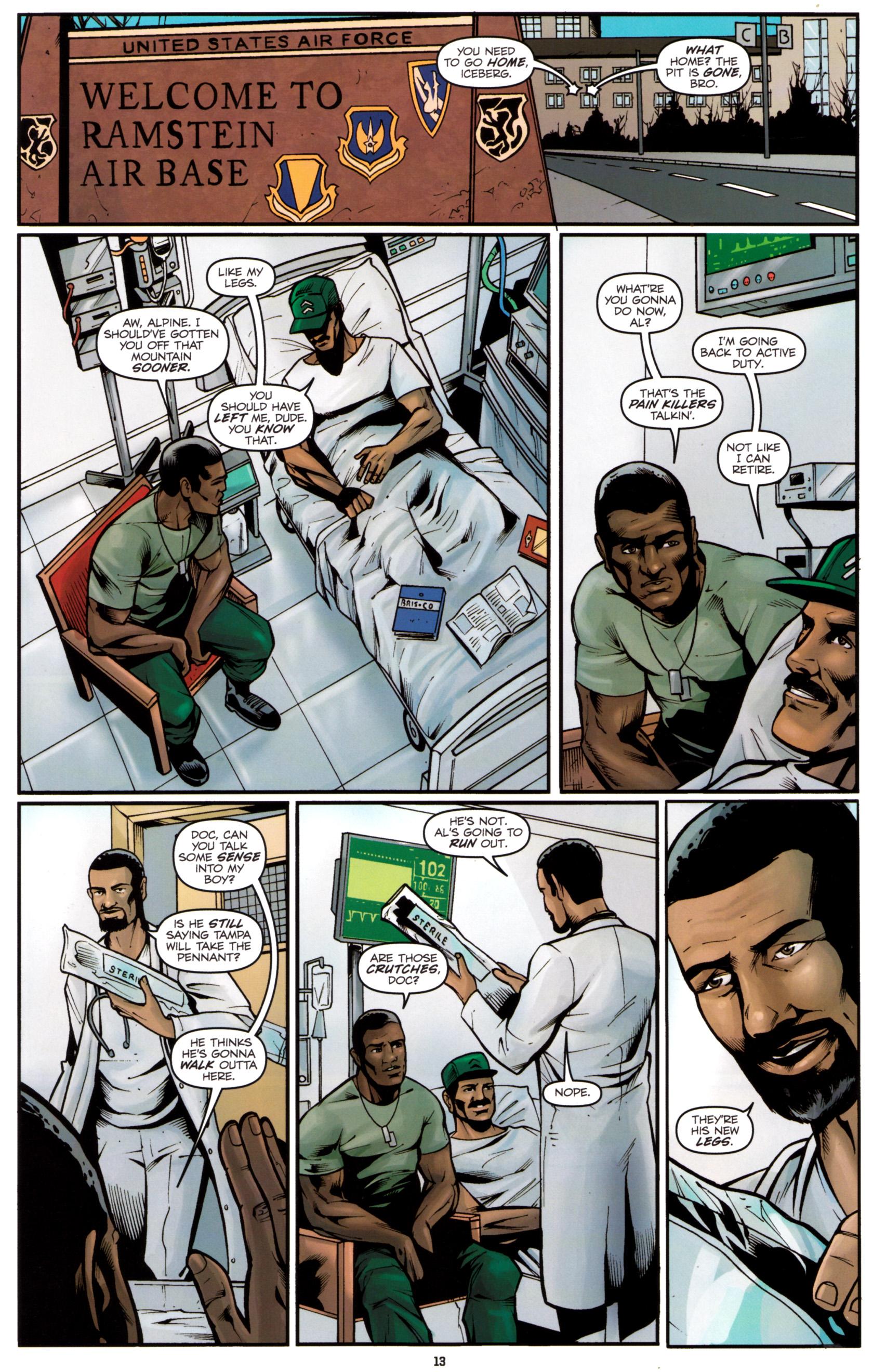 Read online G.I. Joe: Snake Eyes comic -  Issue #5 - 16