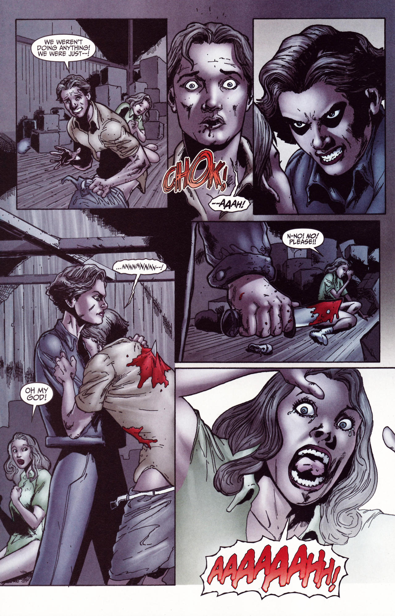 Read online Friday the 13th: Pamela's Tale comic -  Issue #2 - 27