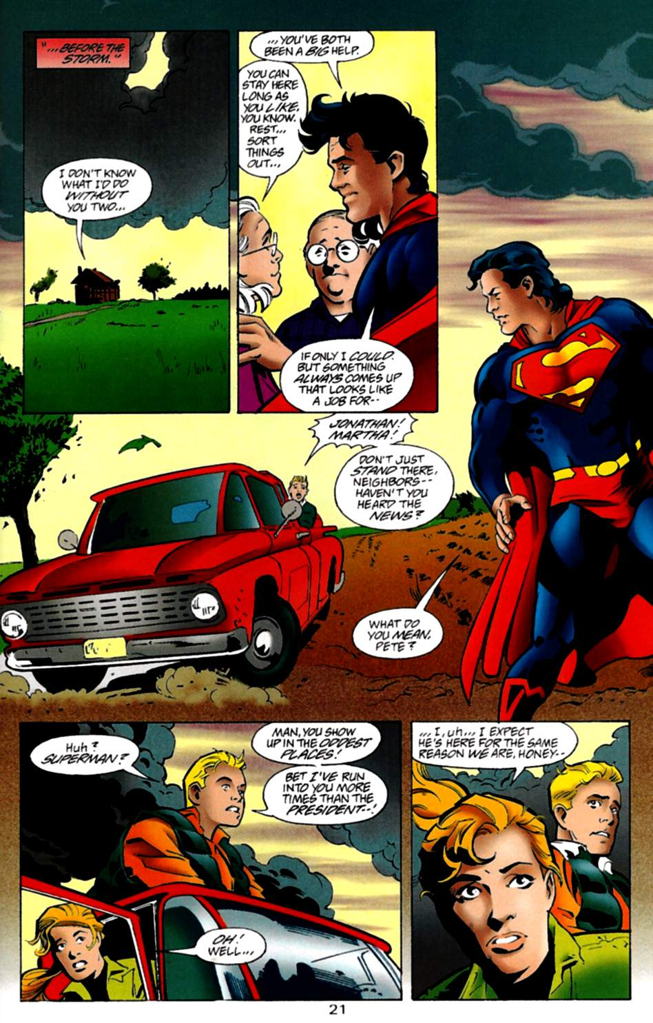 Read online Adventures of Superman (1987) comic -  Issue #535 - 22