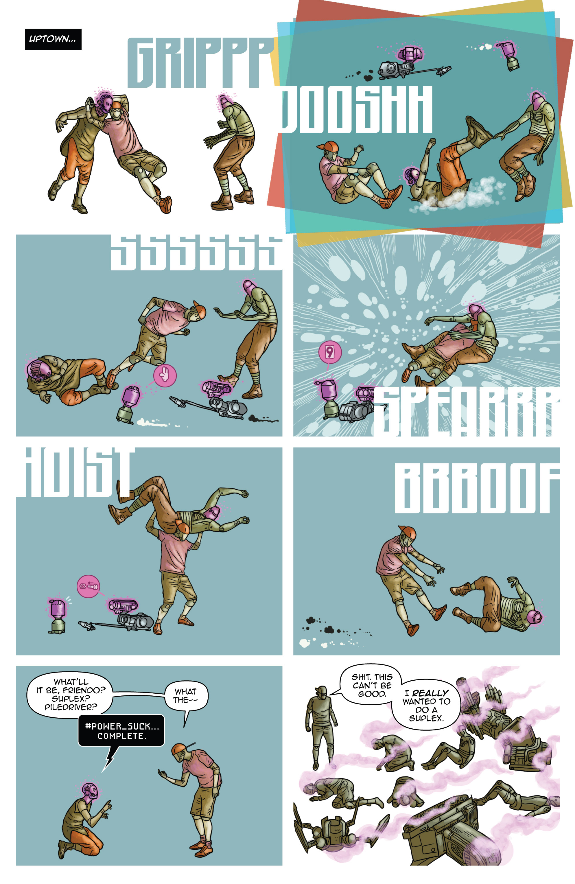Read online D4VEocracy comic -  Issue #4 - 8