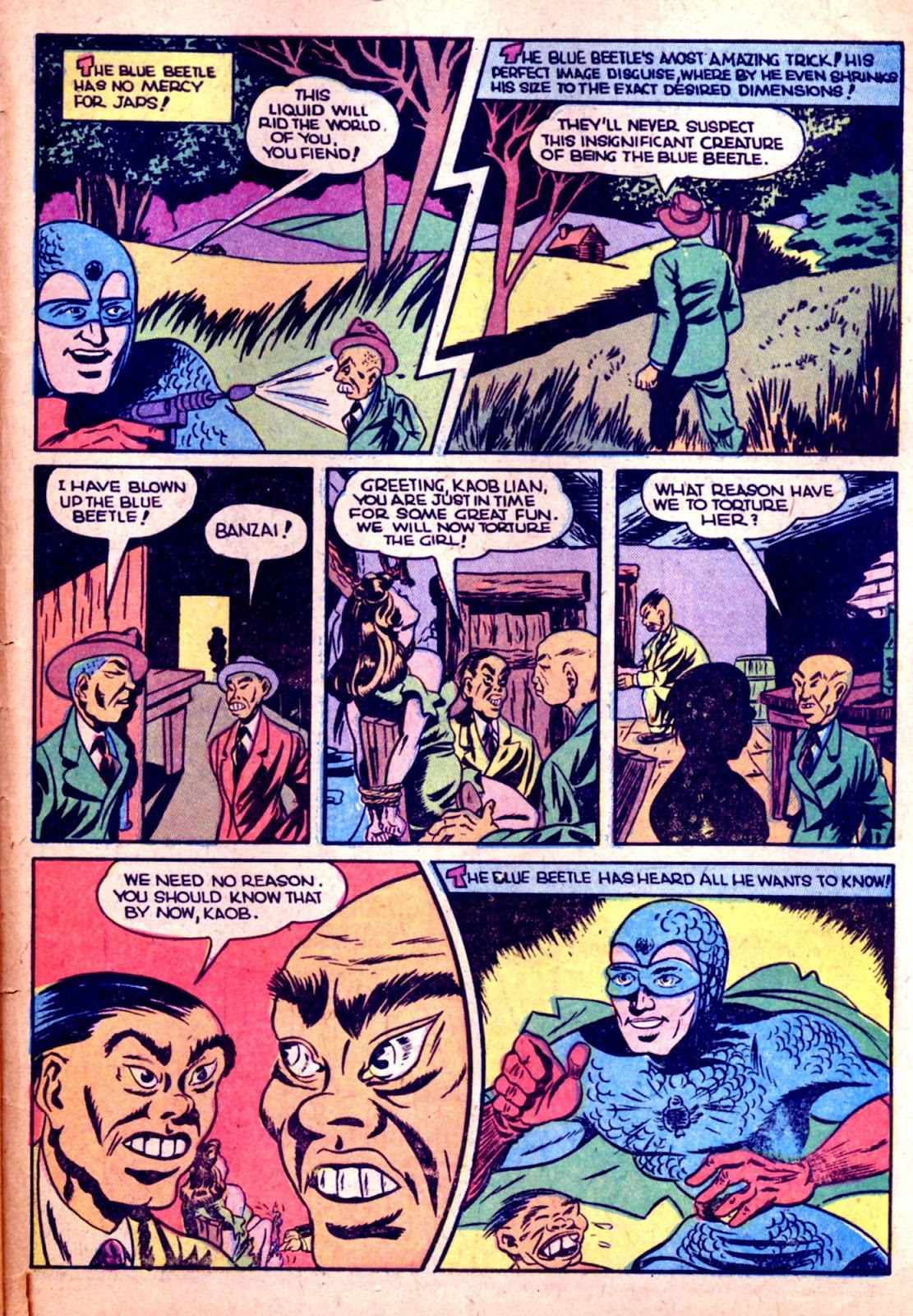 The Blue Beetle issue 31 - Page 47