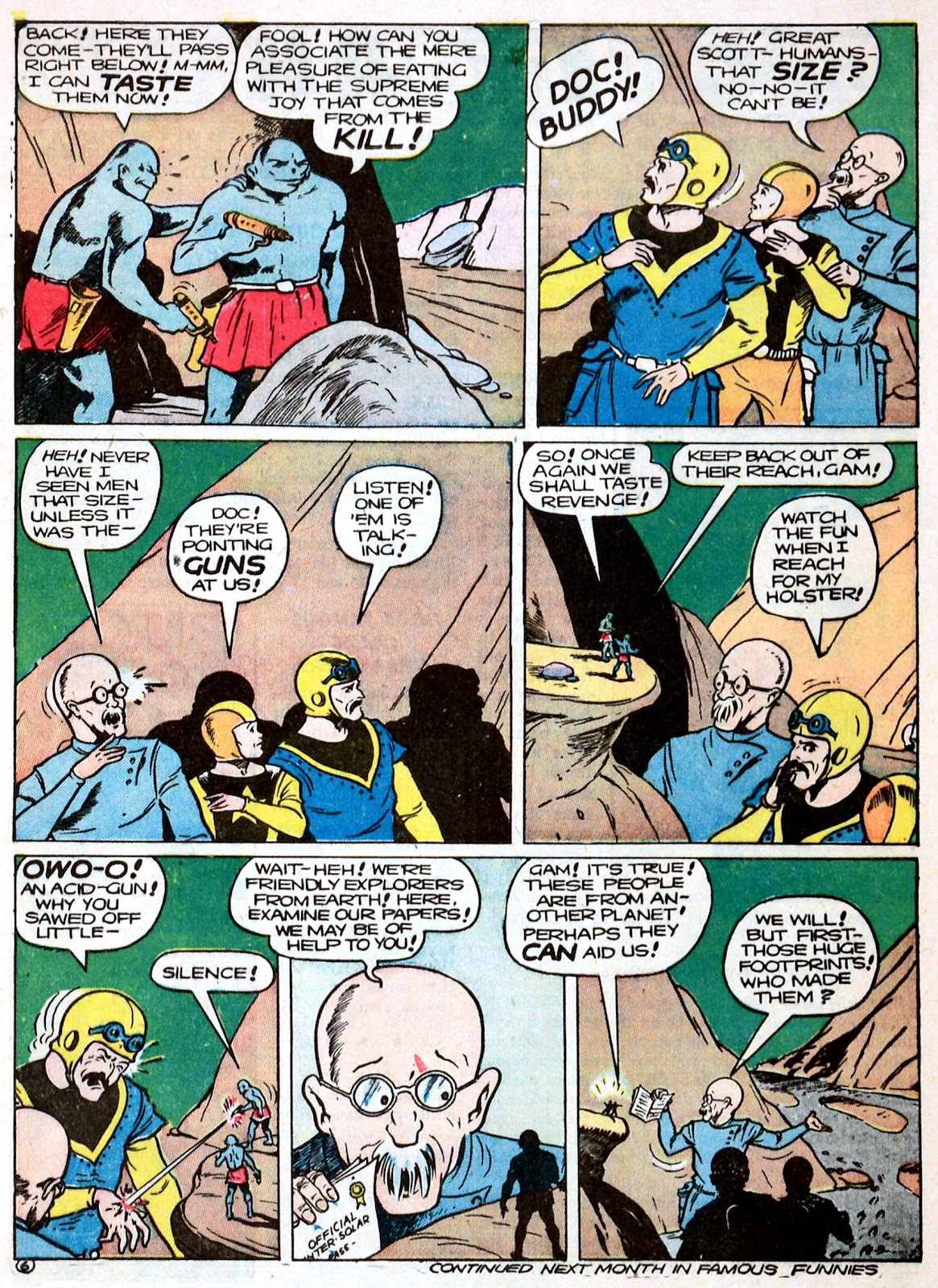 Read online Famous Funnies comic -  Issue #93 - 9