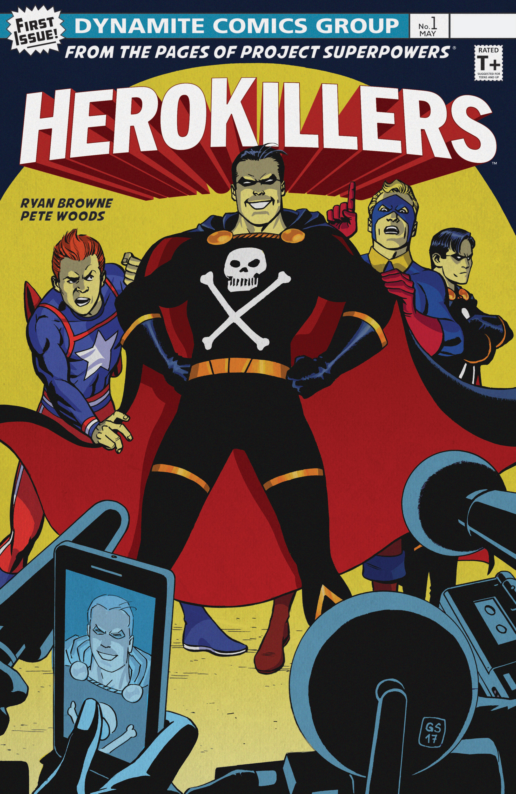 Read online Project Superpowers: Hero Killers comic -  Issue #1 - 3