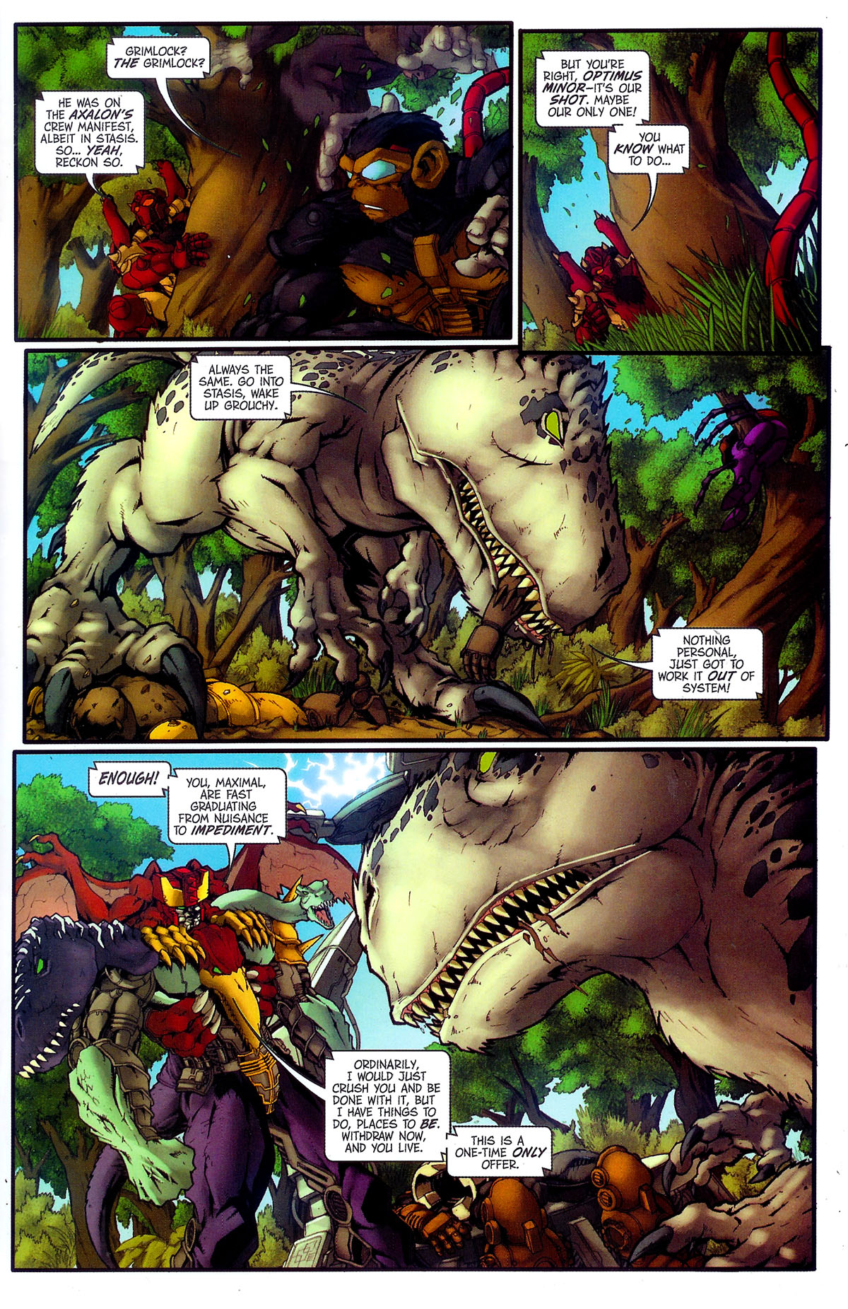 Read online Transformers, Beast Wars: The Gathering comic -  Issue #4 - 8