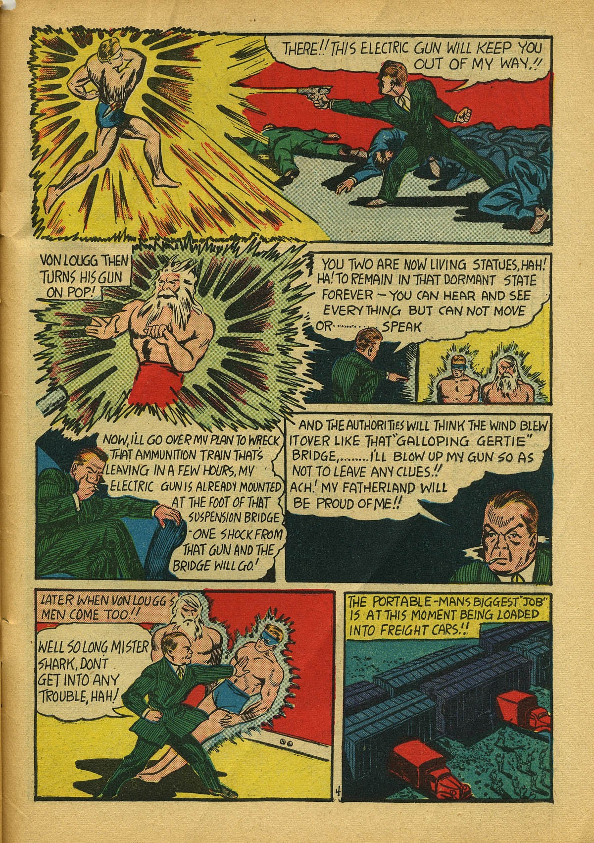 Read online Amazing Man Comics comic -  Issue #22 - 62