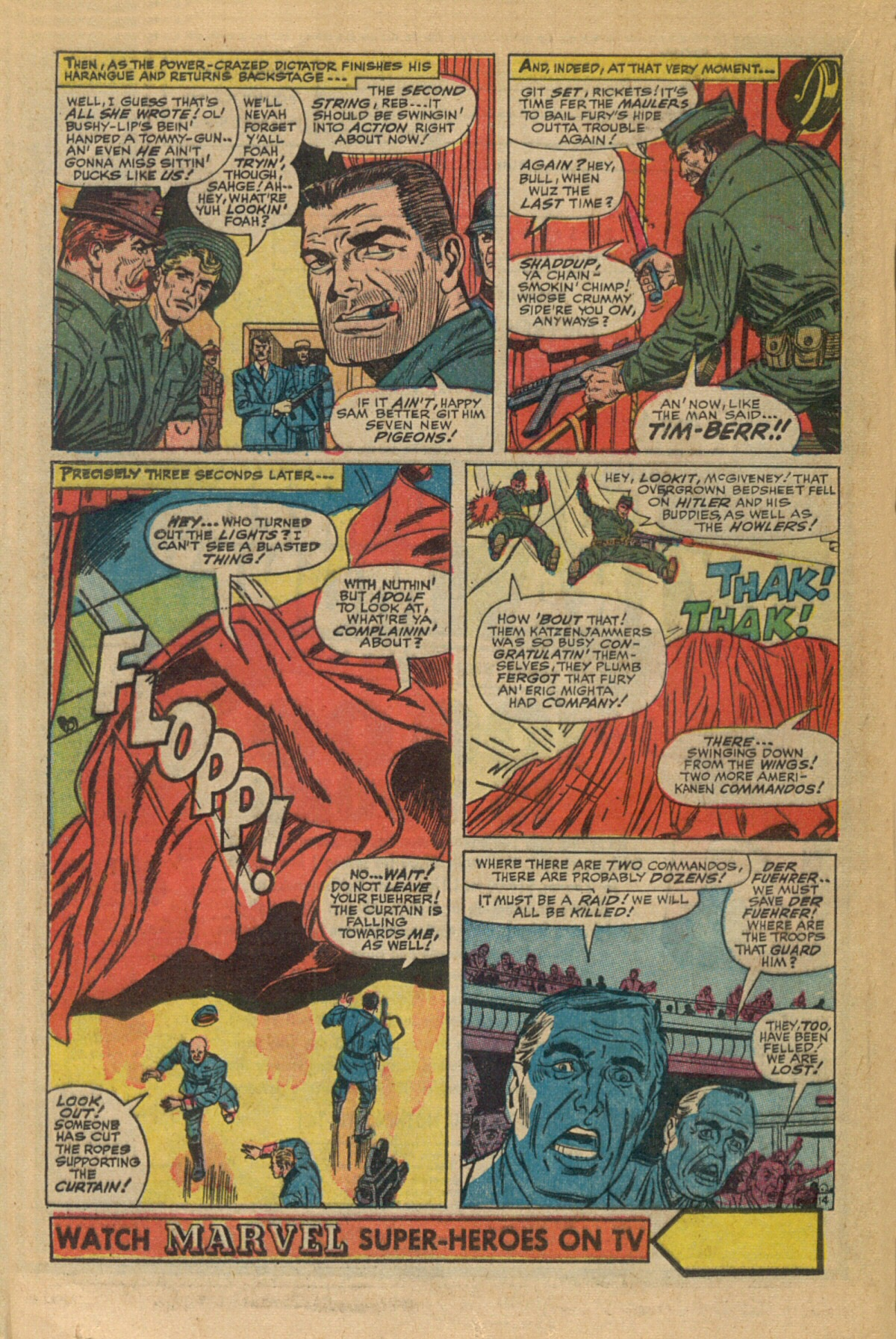 Read online Sgt. Fury comic -  Issue #35 - 20