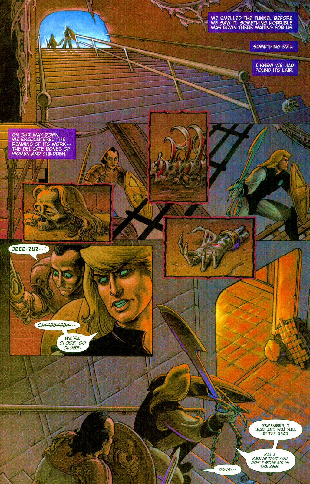 Read online Dawn: Three Tiers comic -  Issue #3 - 13