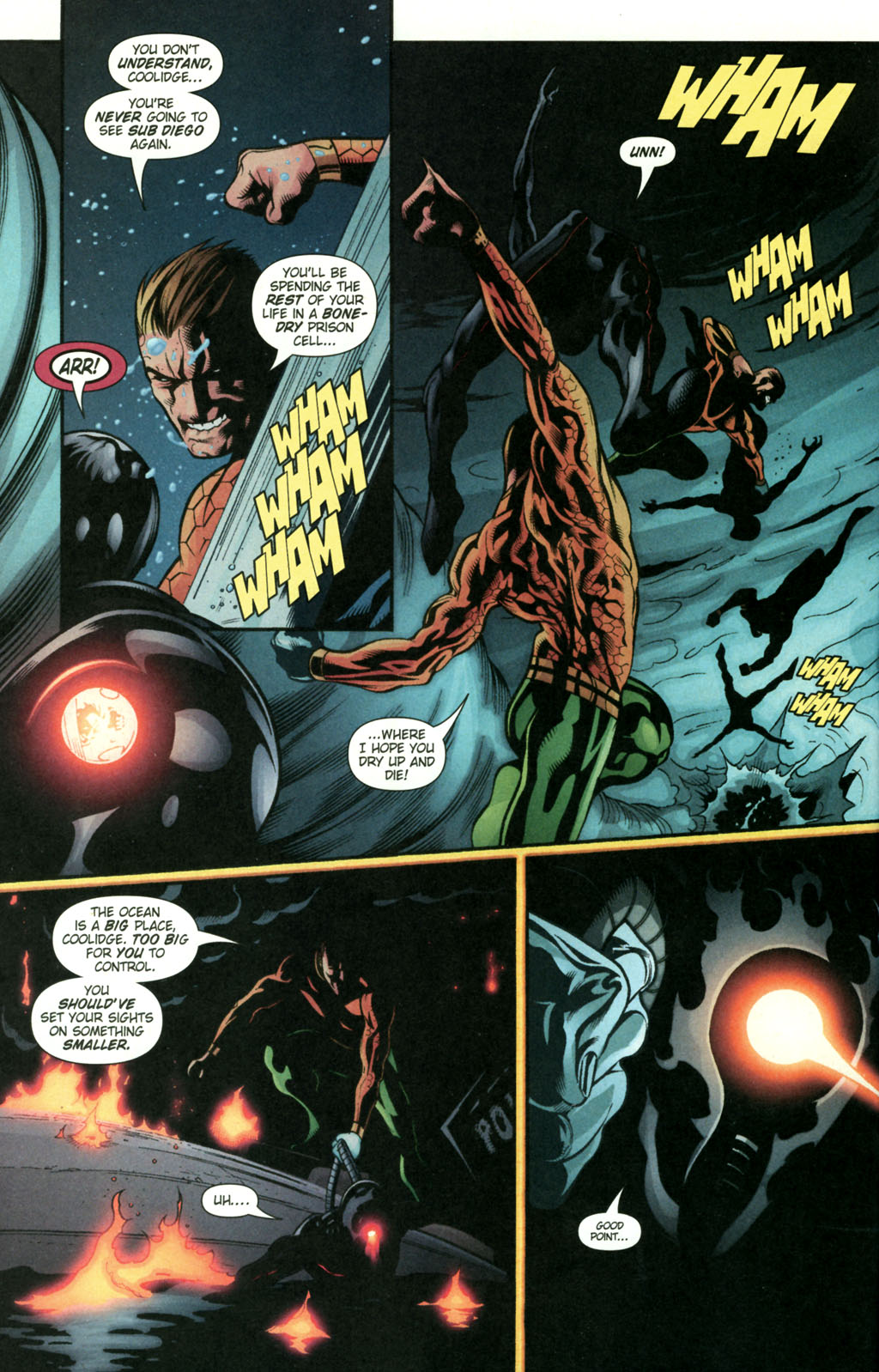 Read online Aquaman (2003) comic -  Issue #22 - 17