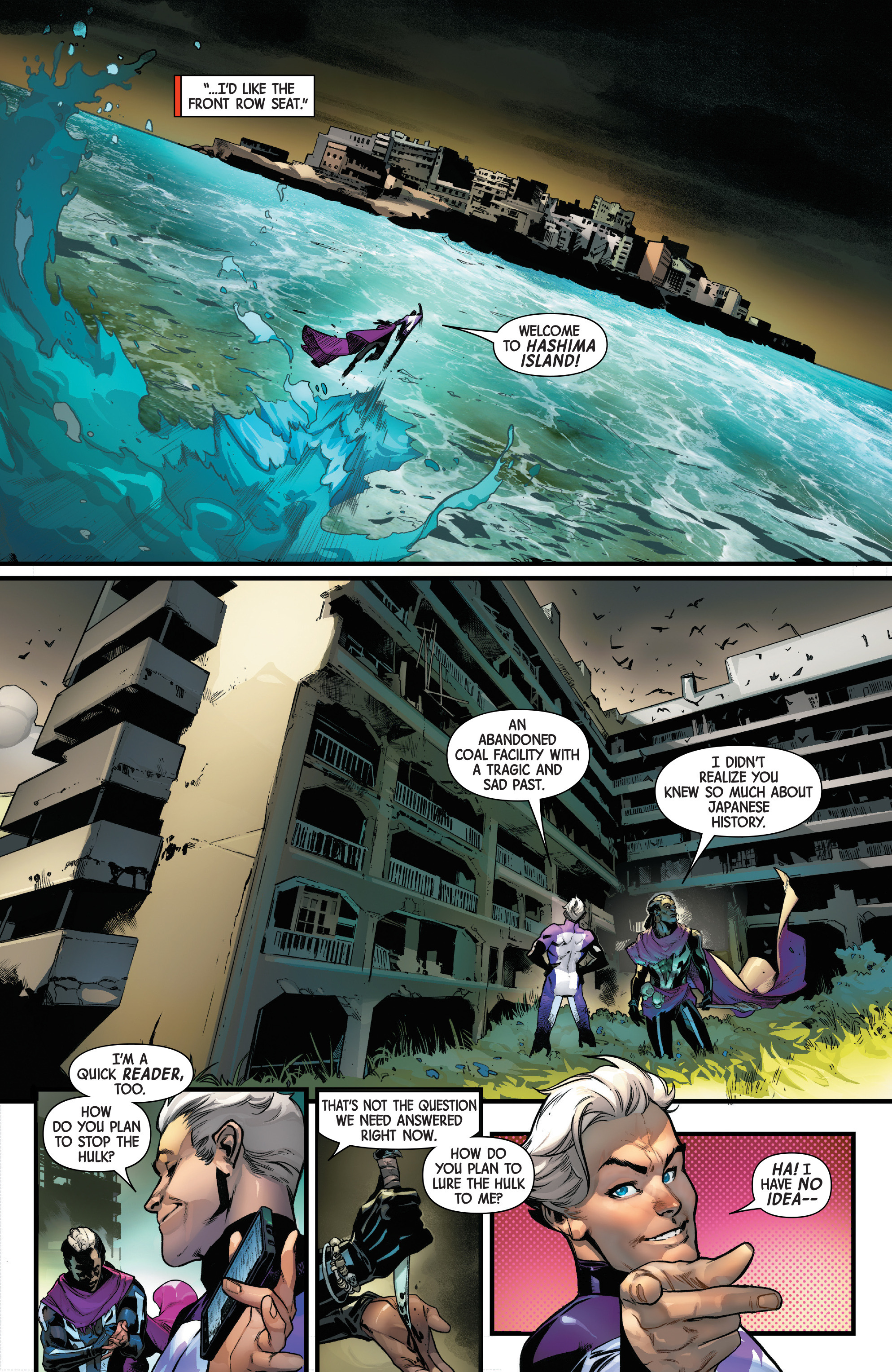Read online Uncanny Avengers [II] comic -  Issue #16 - 17