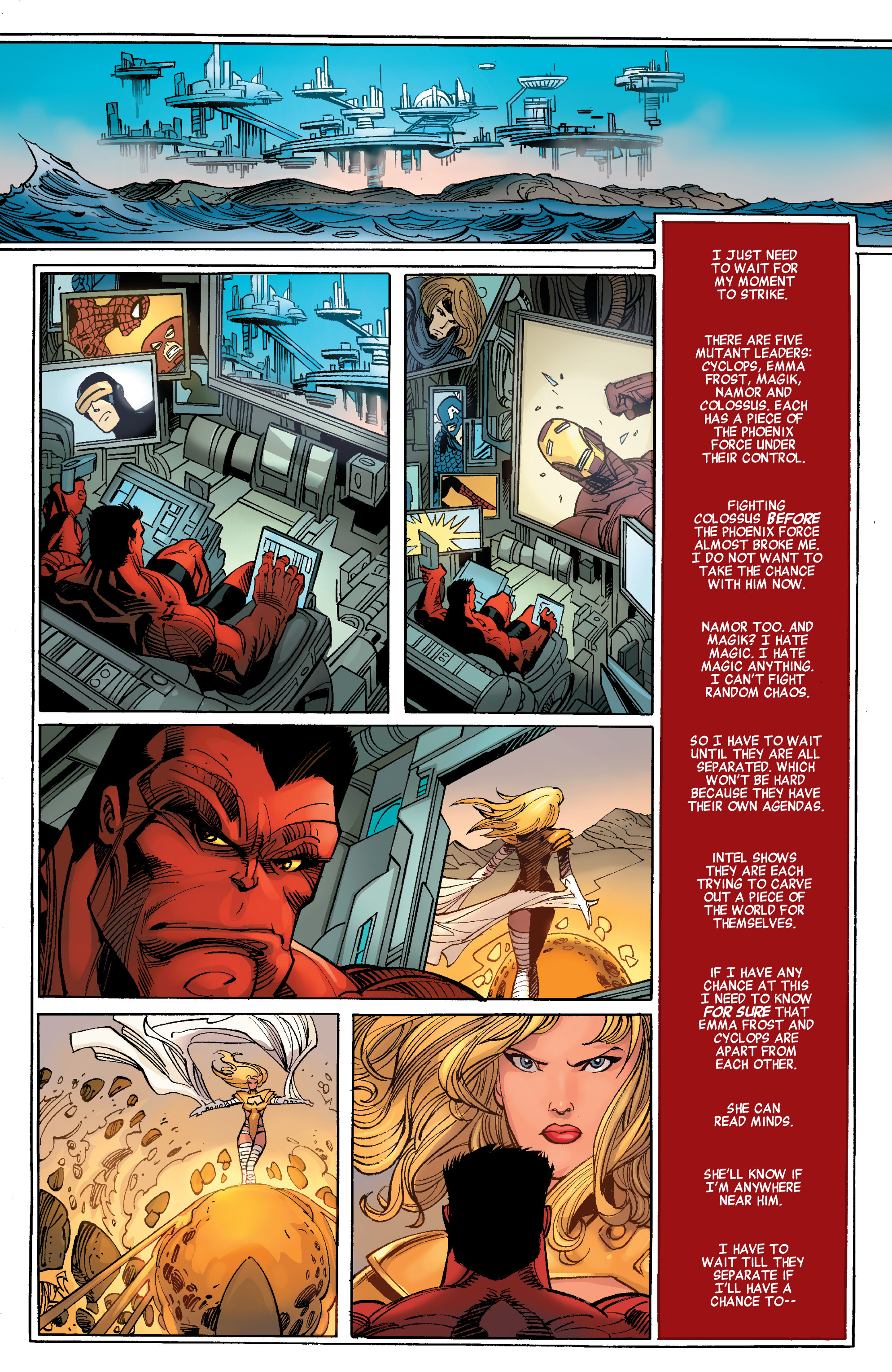 Read online Avengers (2010) comic -  Issue #28 - 6