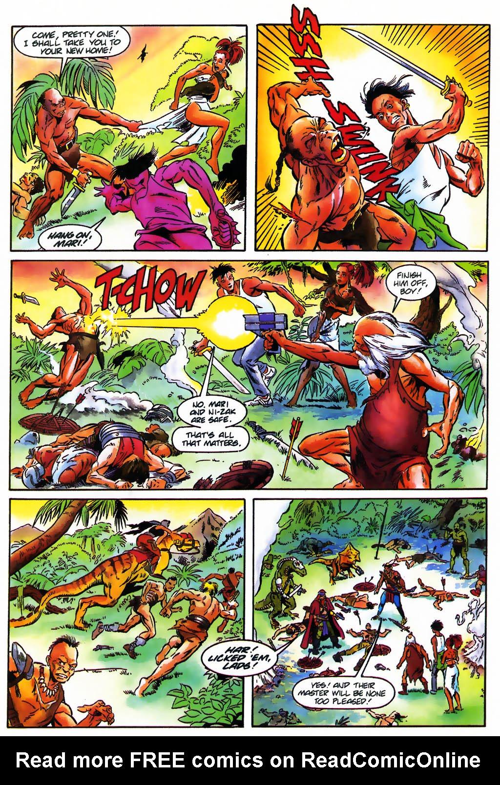 Read online Turok, Dinosaur Hunter (1993) comic -  Issue #26 - 10