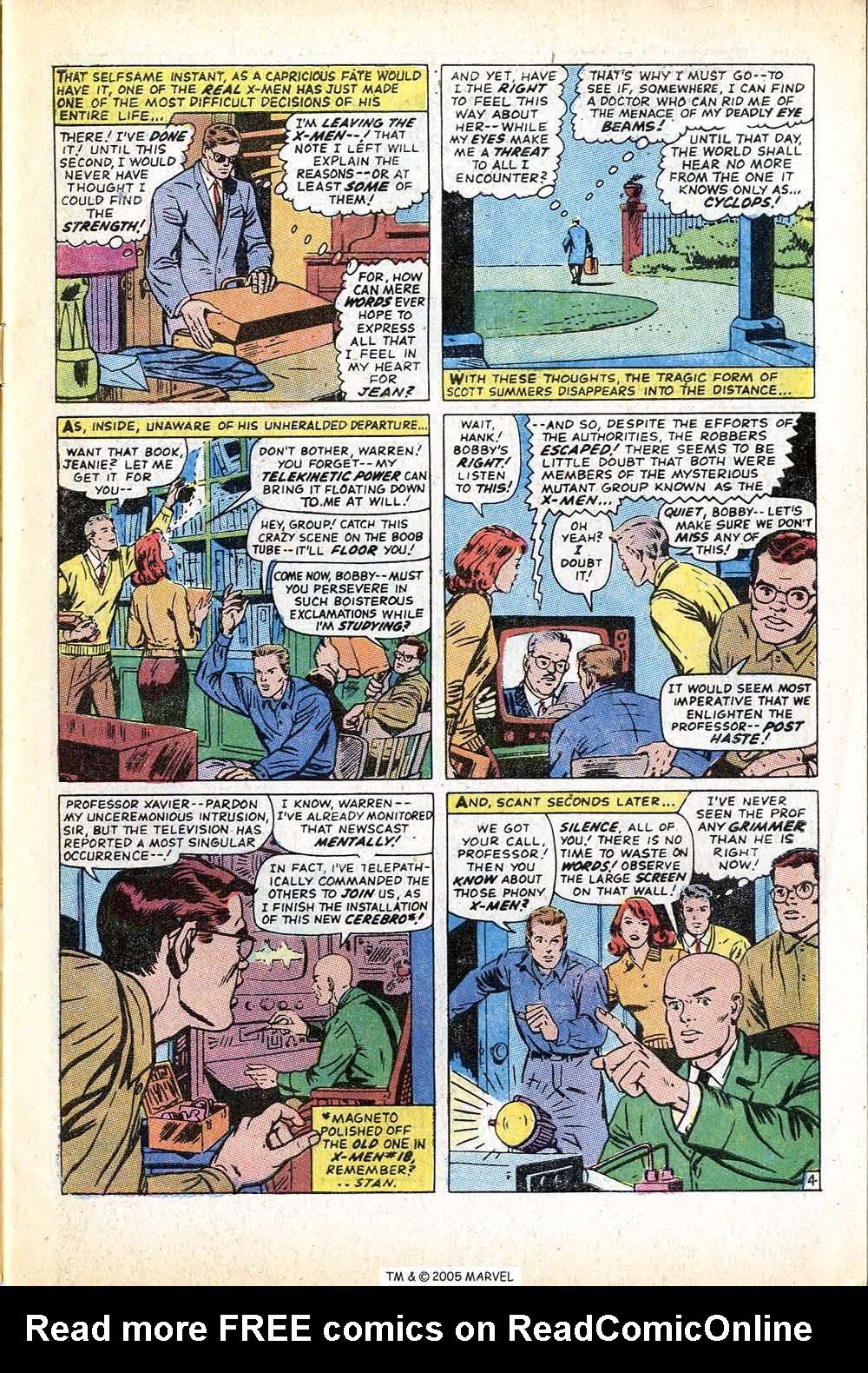 Uncanny X-Men (1963) issue 71 - Page 7