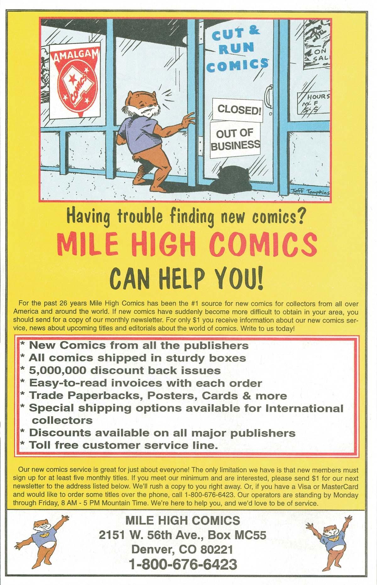 Read online UltraForce (1995) comic -  Issue #7 - 13