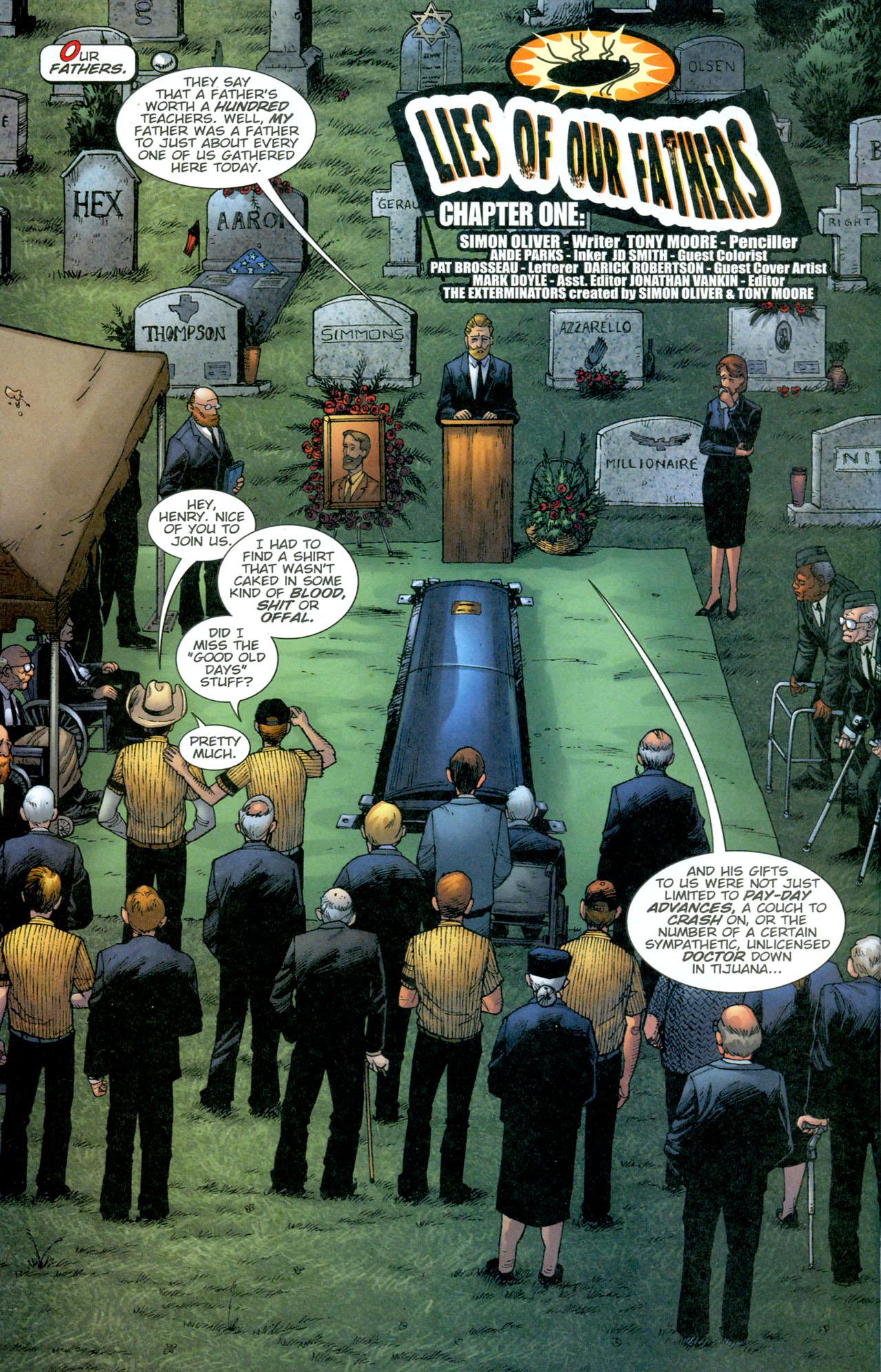 Read online The Exterminators comic -  Issue #13 - 5